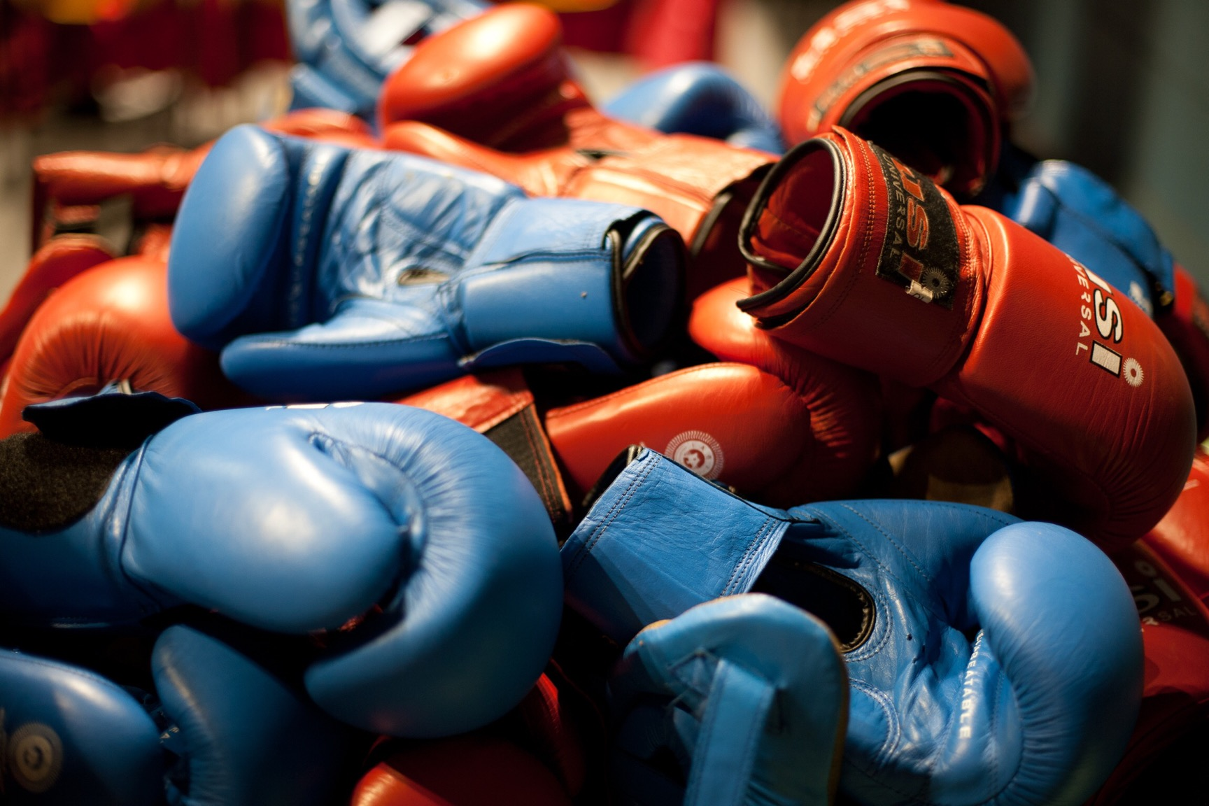 Boxing gloves (© Lee Bazalgette)