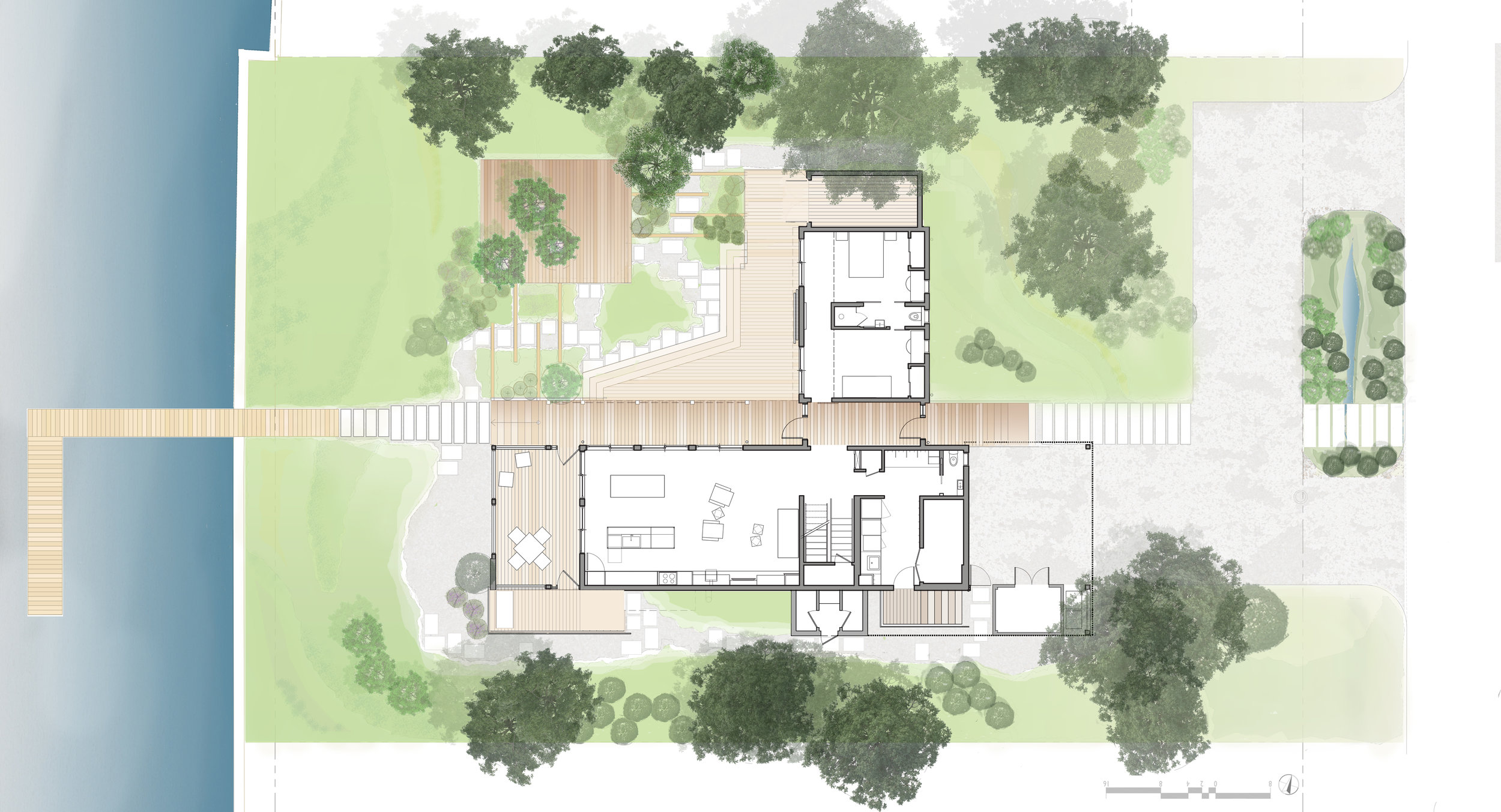 Canal House  Gardner Architects LLC