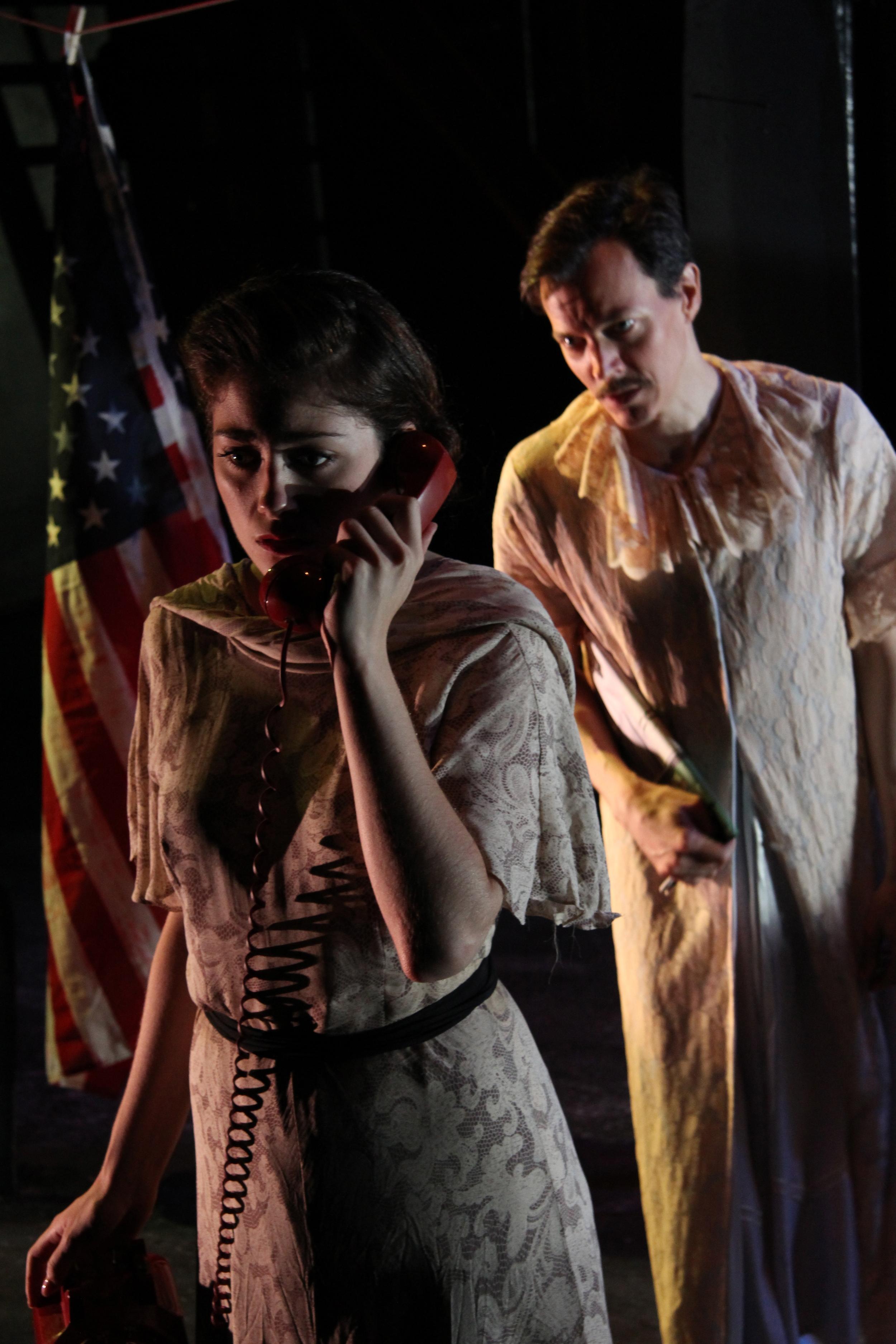Elizabeth Elderfer and Daniel Allen Nelson. Photo by Josh Smith.