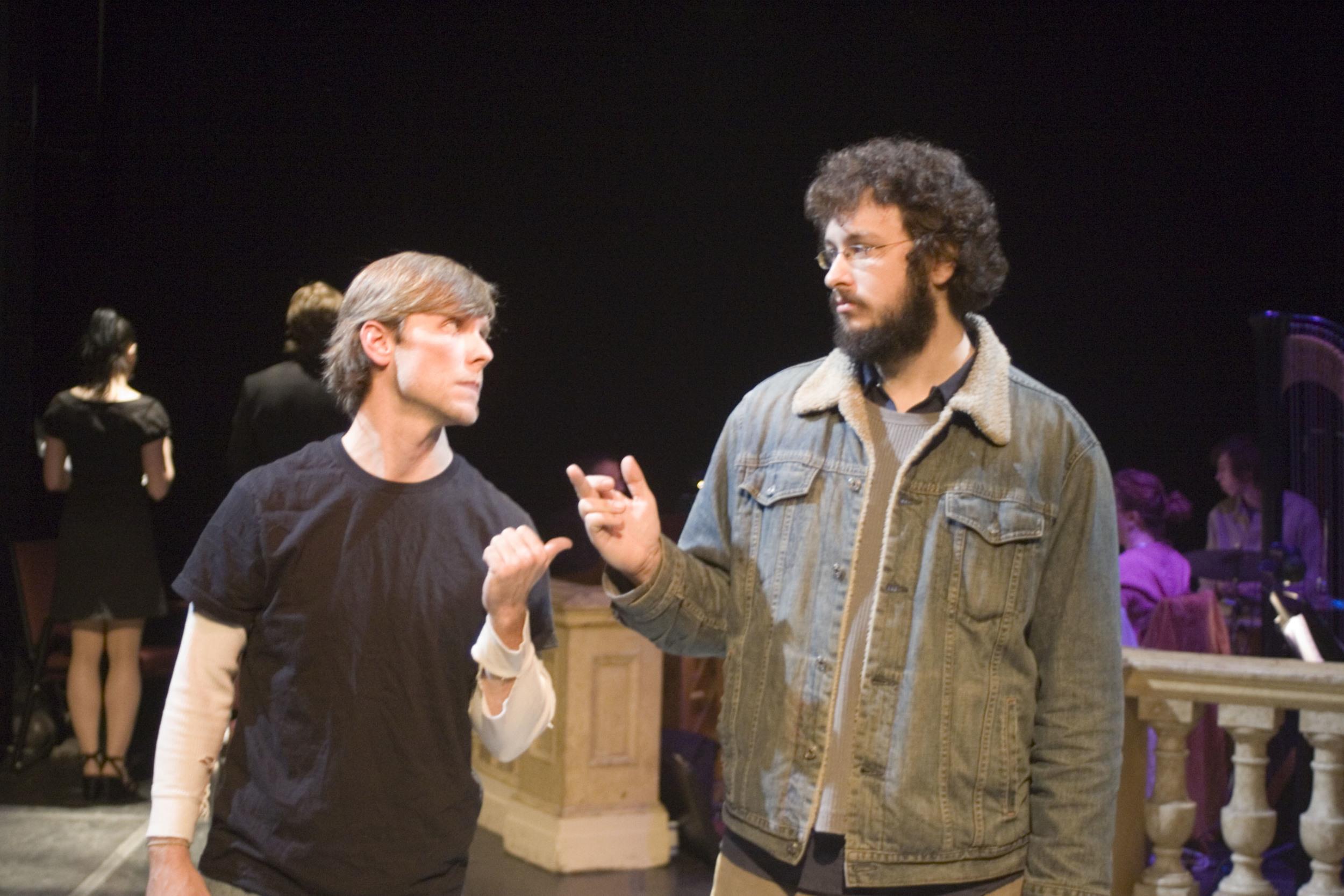 Adam Hose and Owen O'Malley. Photo by Lauren Braun