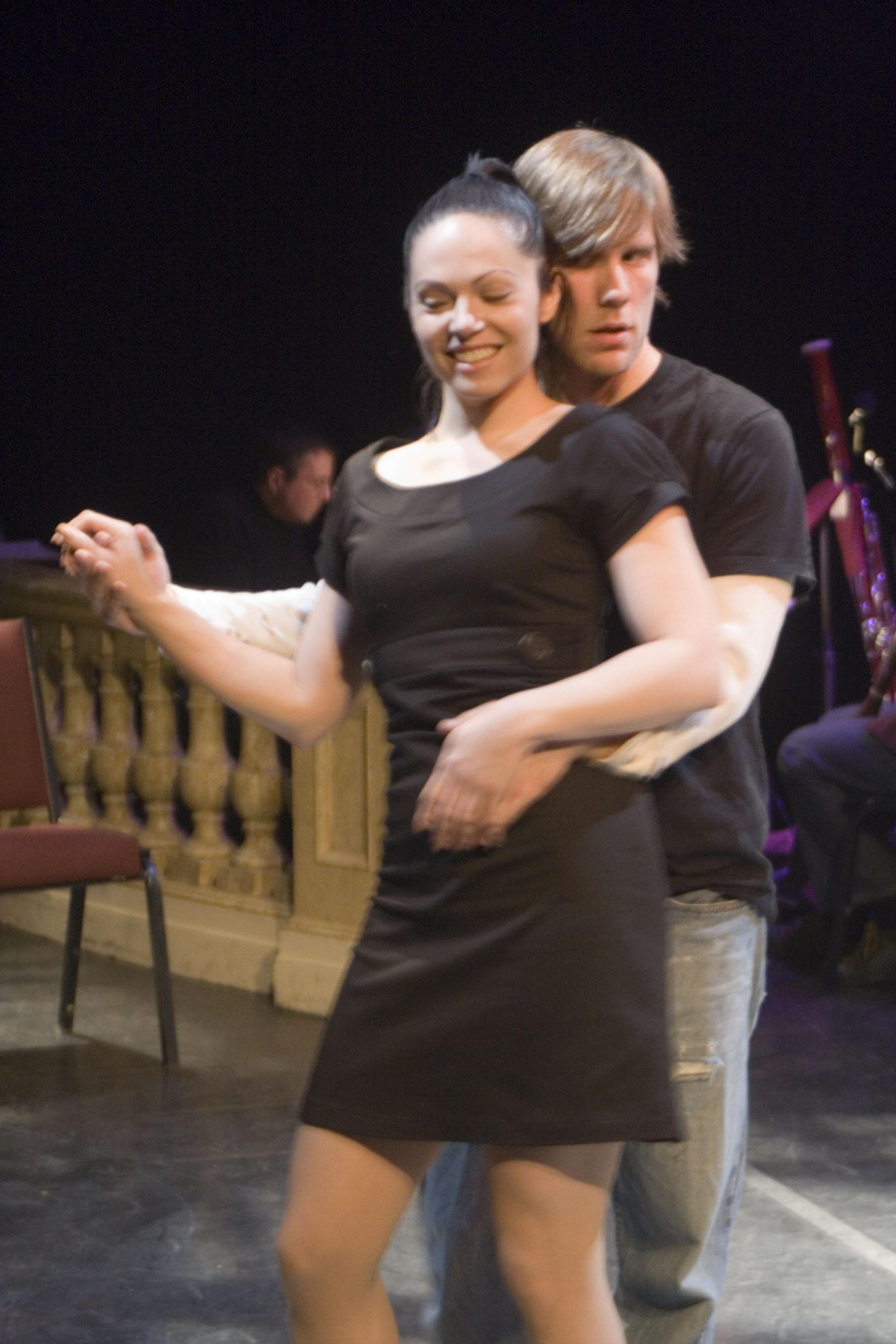 Adam Hose and Cassandra Vincent. Photo by Lauren Braun