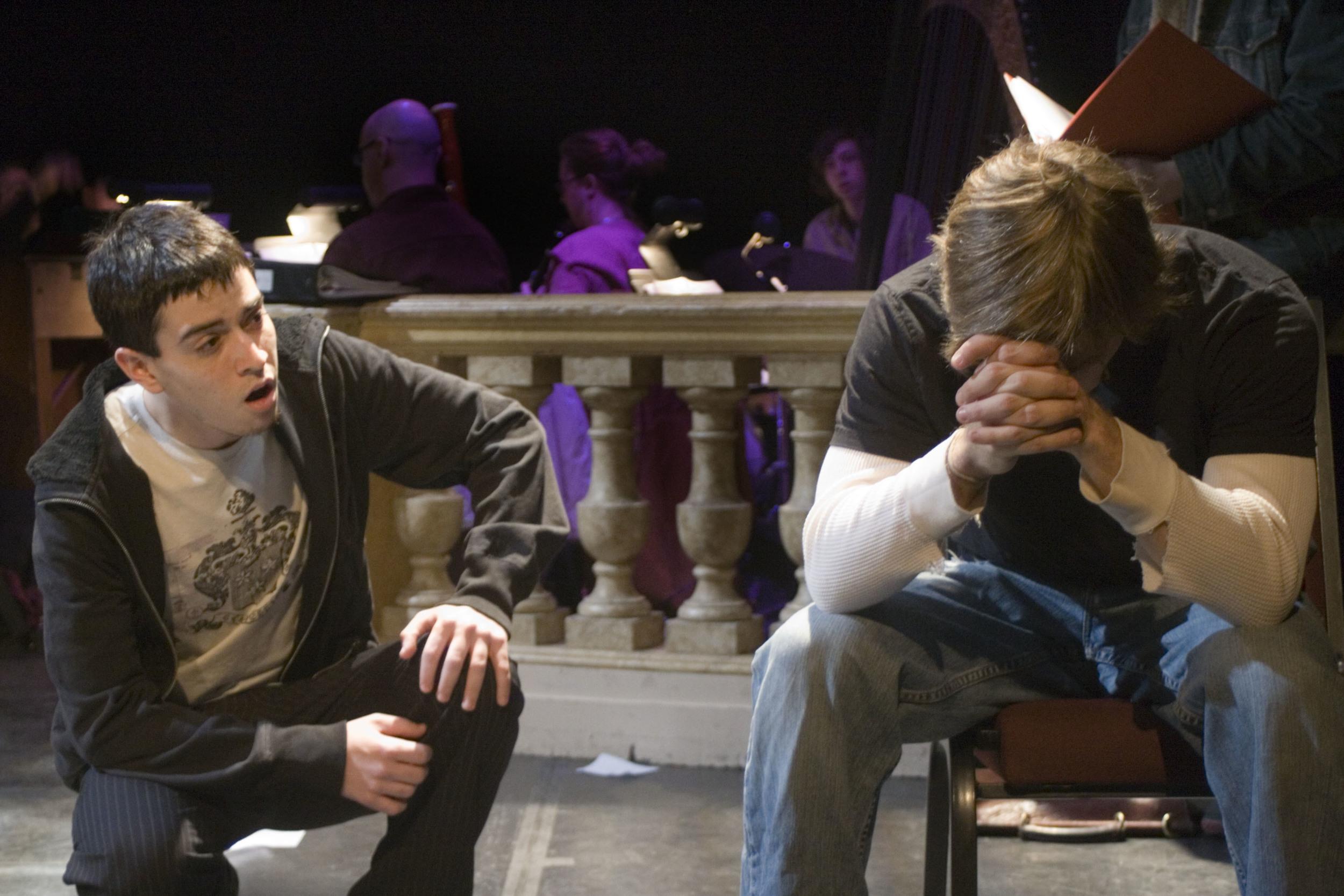 Evan Jay Newman and Adam Hose. Photo by Lauren Braun