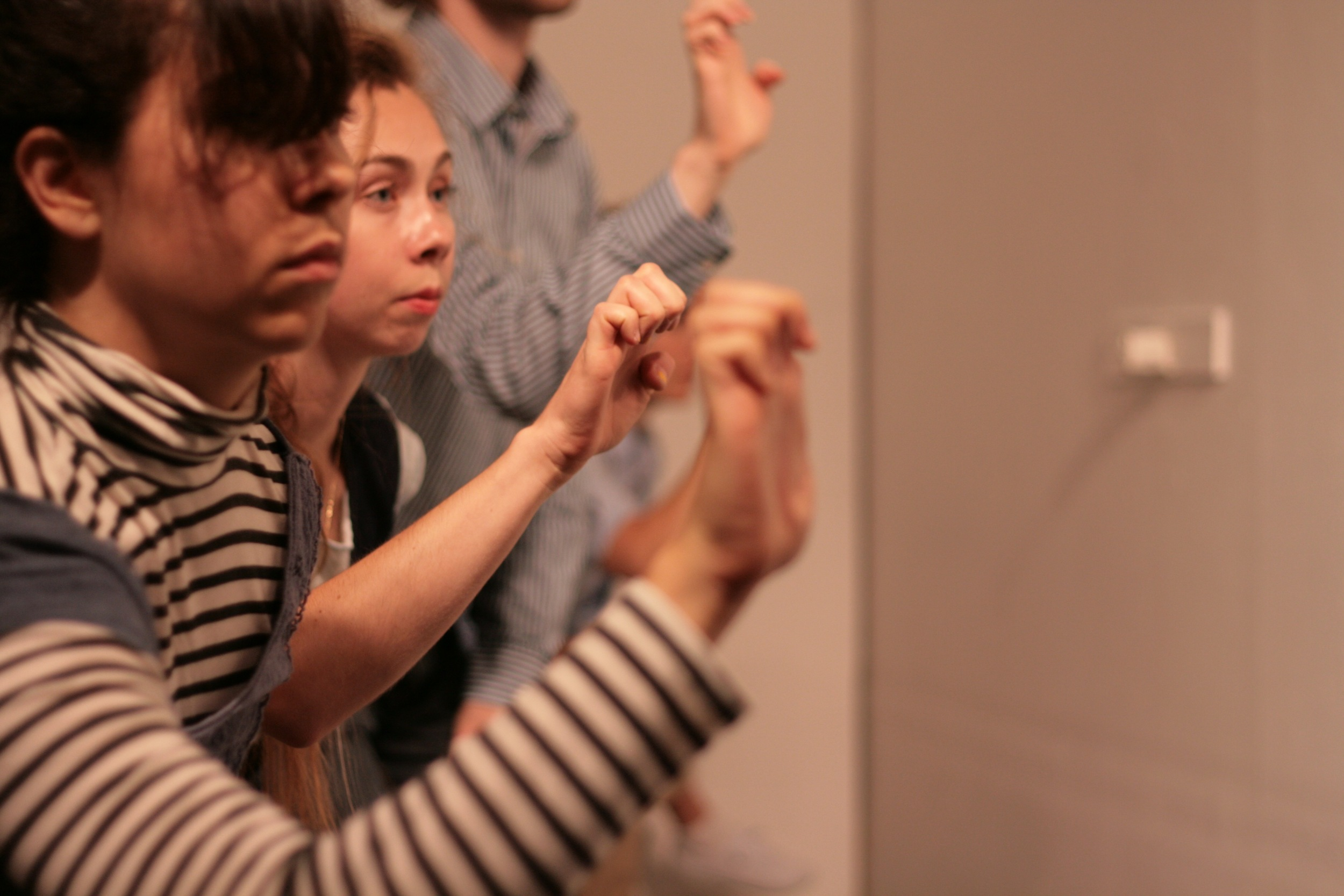 Victoria Roberts-Wierzbowski and Brigghid Greene. Photo by Justin Tornow