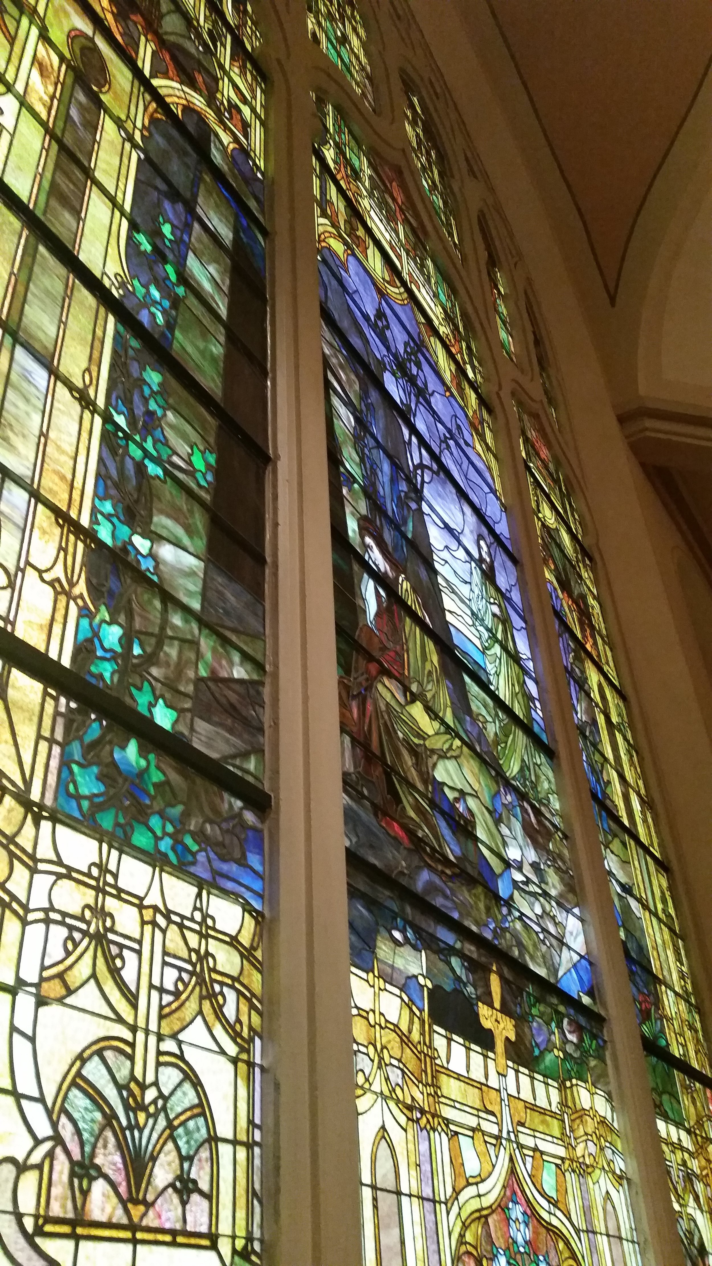 Aren't the stained glass windows gorgeous?