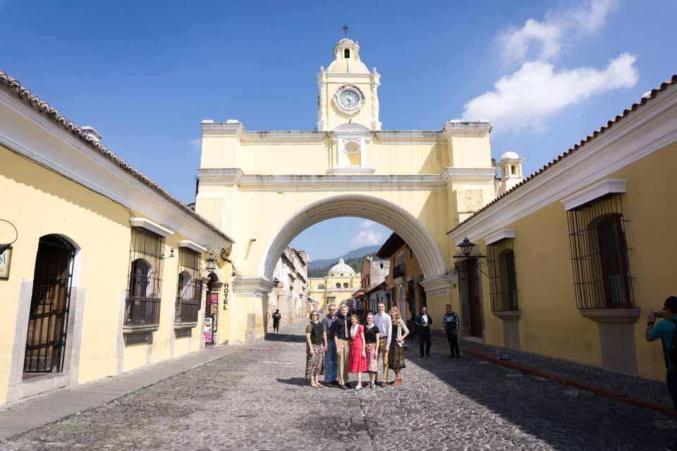 The iconic landmark of Antigua!