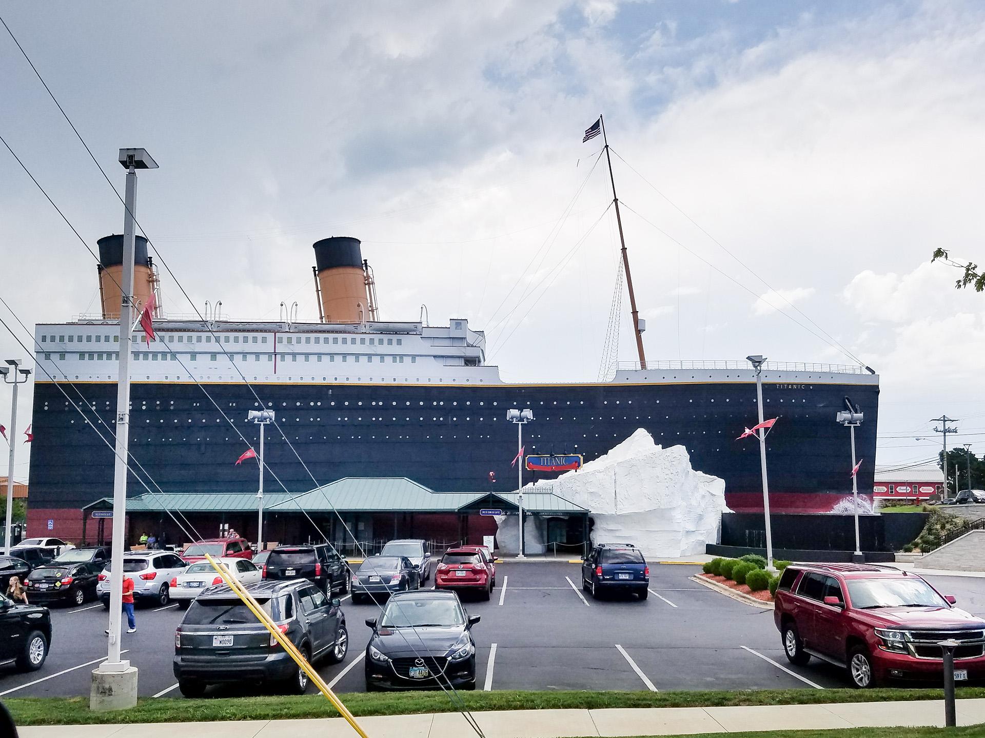 Titanic museum Branson MO.jpg