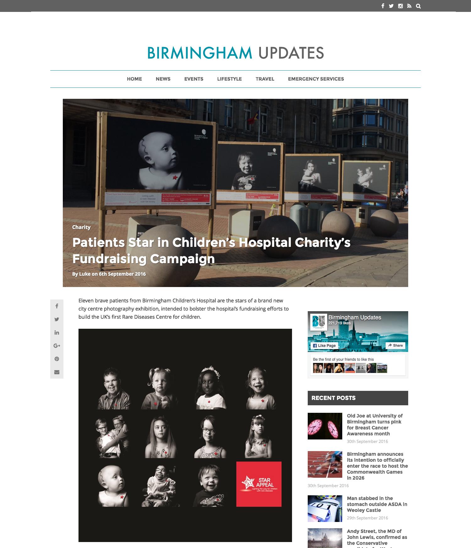 Birmingham Updates Article