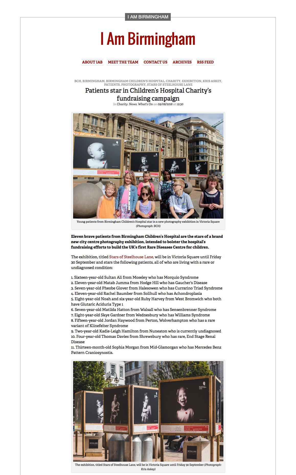 I Am Birmingham Article