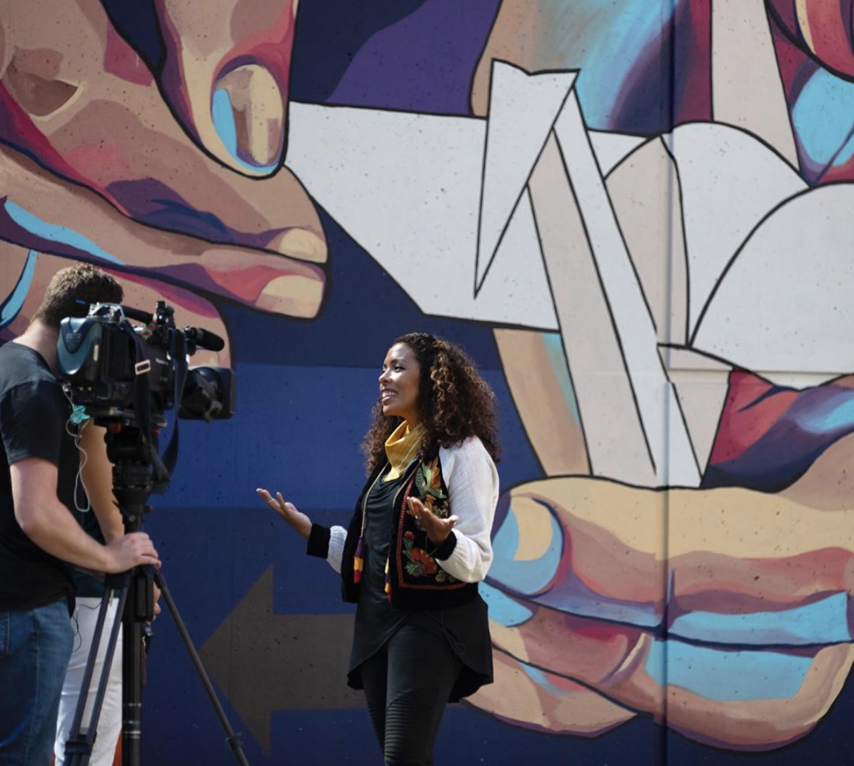 Lots of press! NBC did a story on my work and participation at the InkBlock Underground Mural Project.