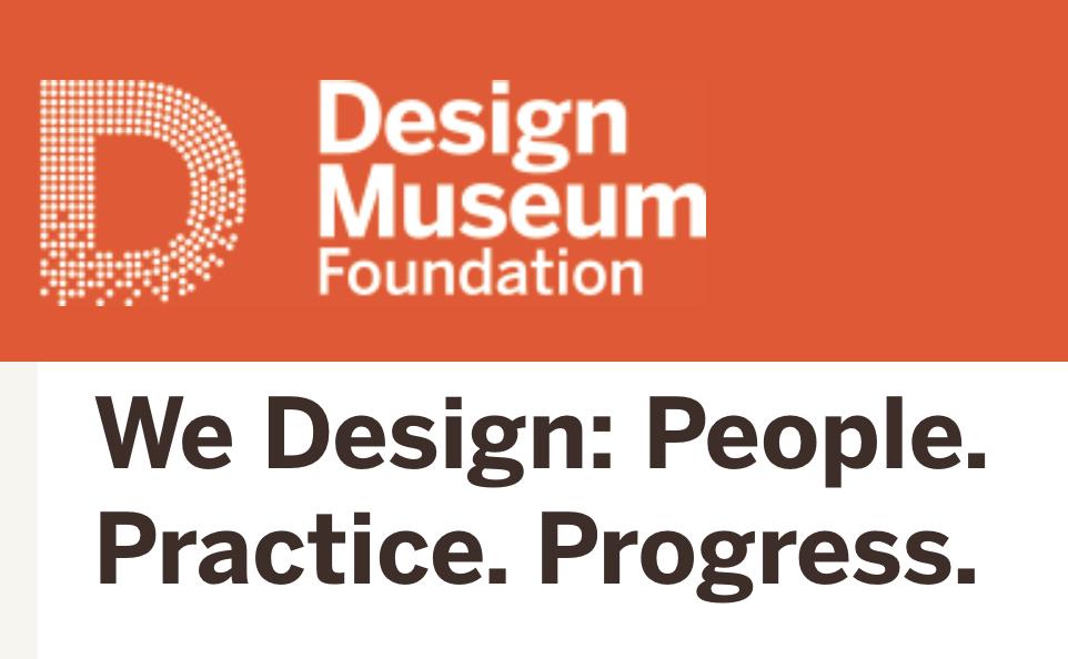 We Design: People. Practice. Progress.  Exhibition opening on October 1, 2019.  More info here.
