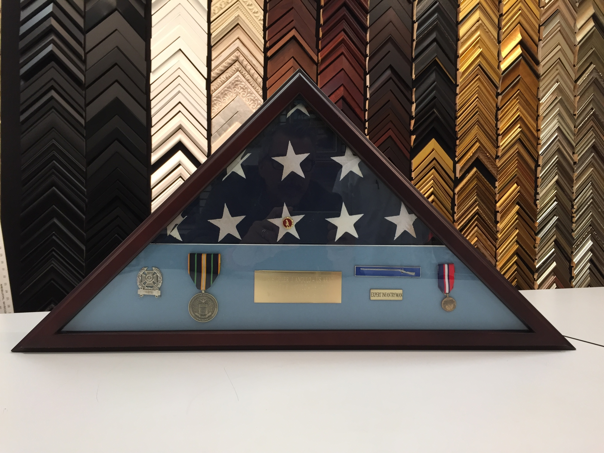 American Flag Shadow Box