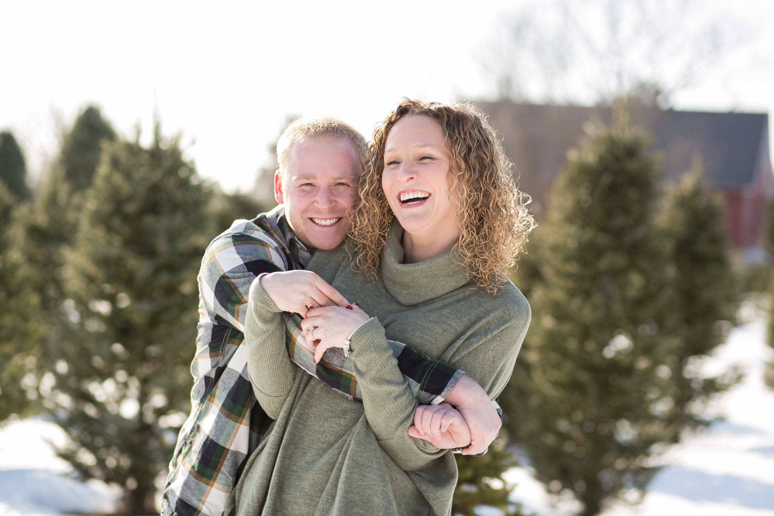Winter Engagement by Minneapolis Wedding Photographer Chelsea Bolling