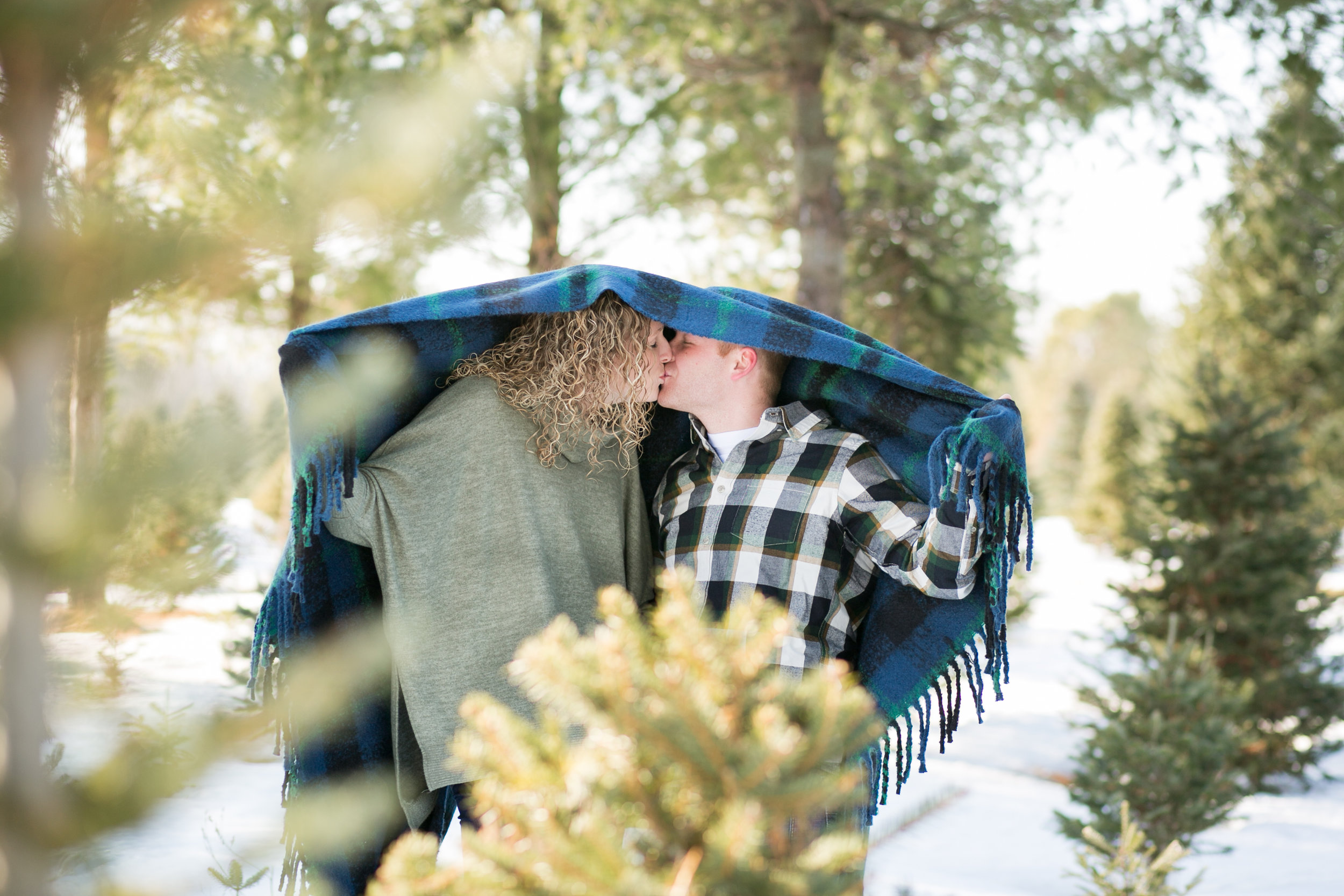Winter Engagement Photography by Chelsea Bolling Minnesota Wedding Photographer