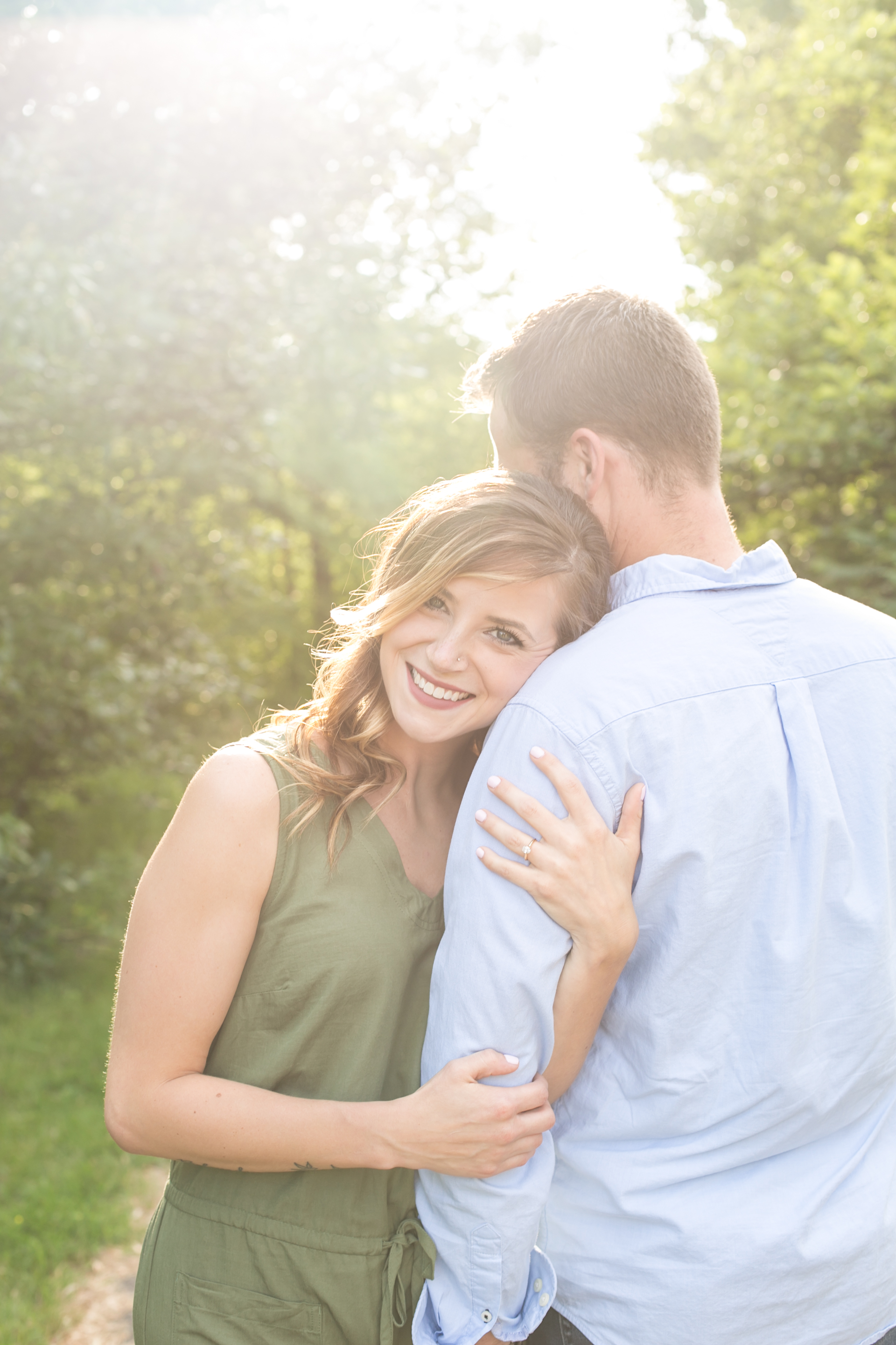Minnehaha engagement photos