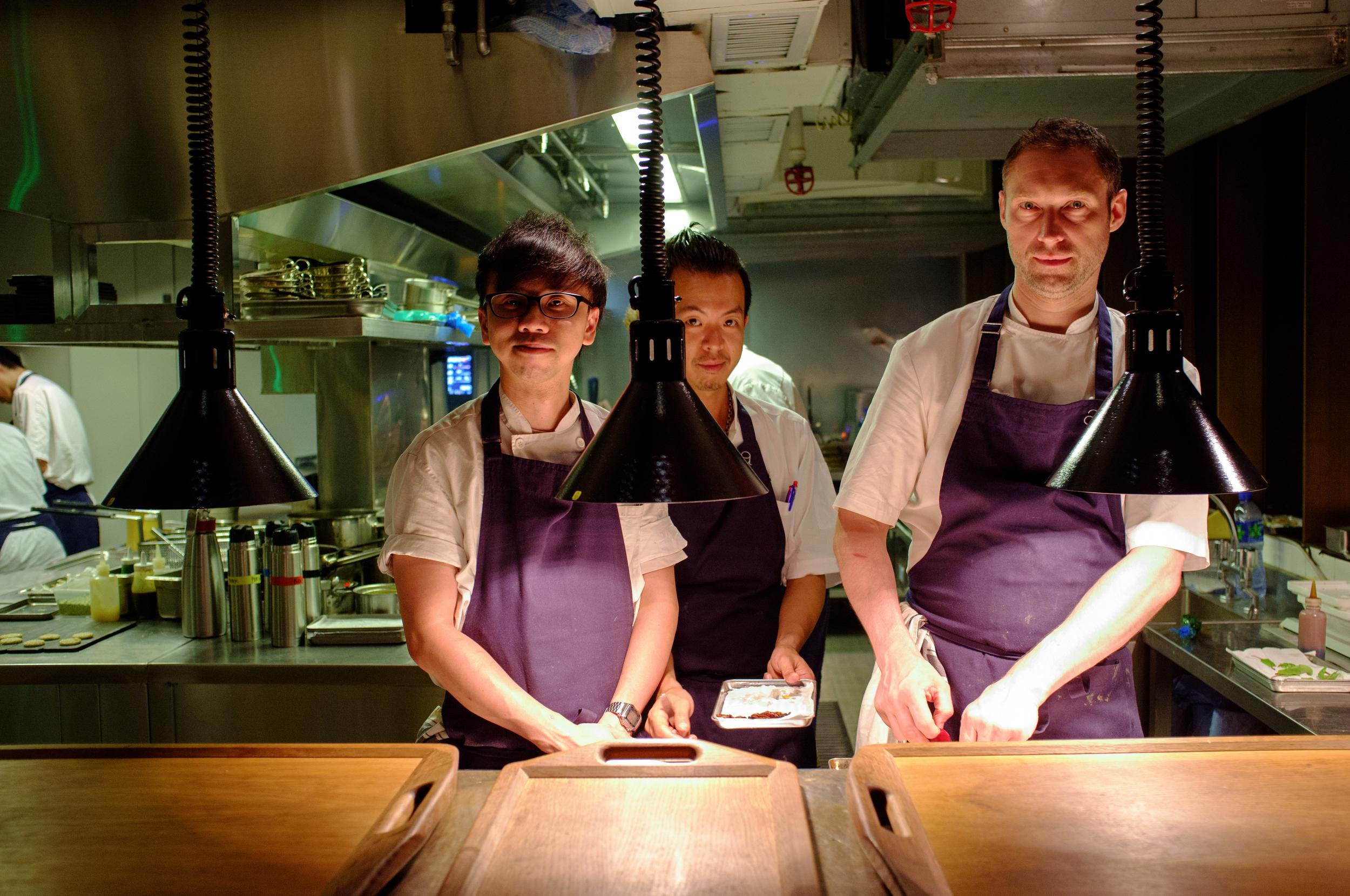 Chef Whitmore, far right