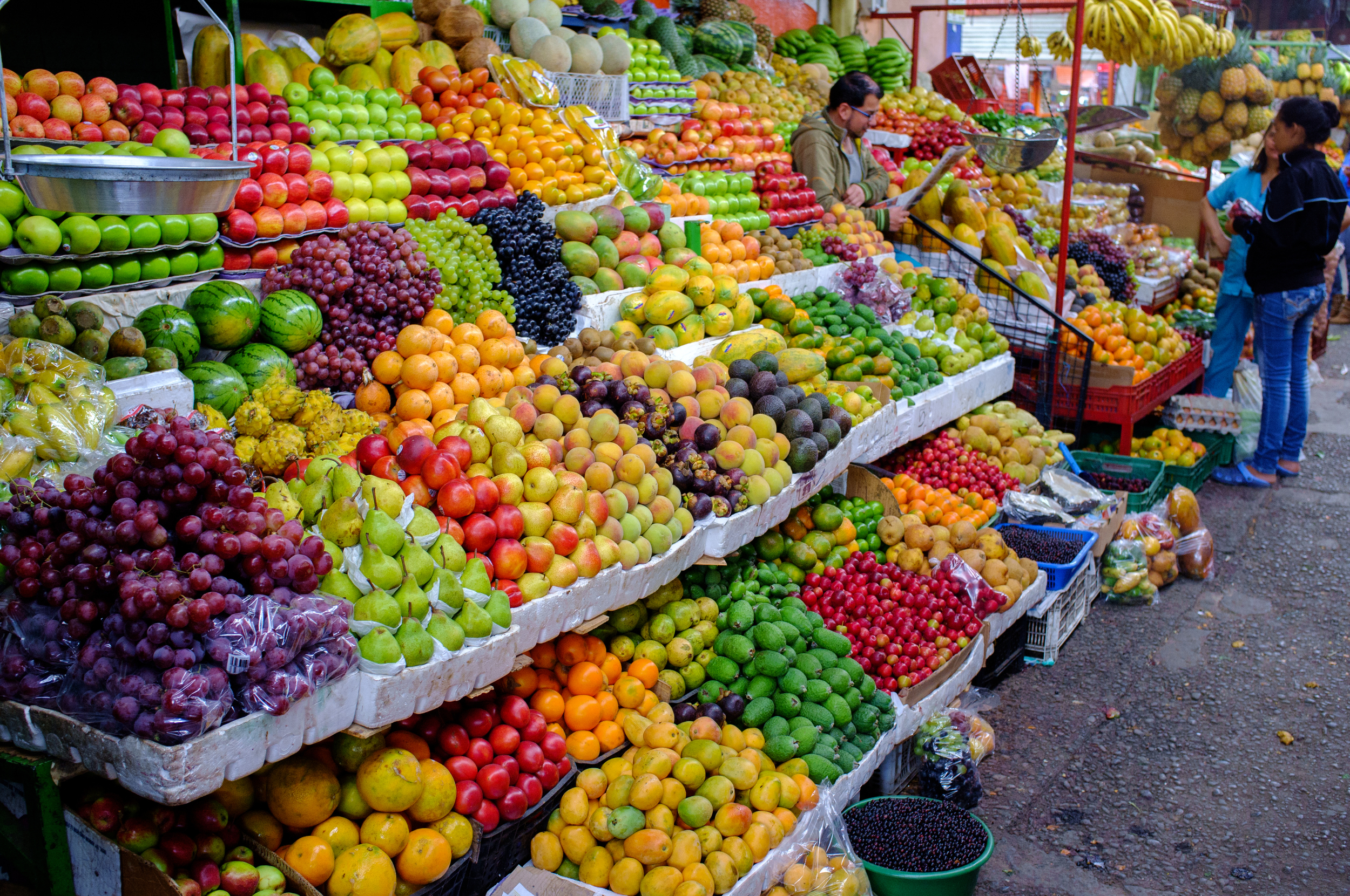 Fruits atMercado de Paloquemao