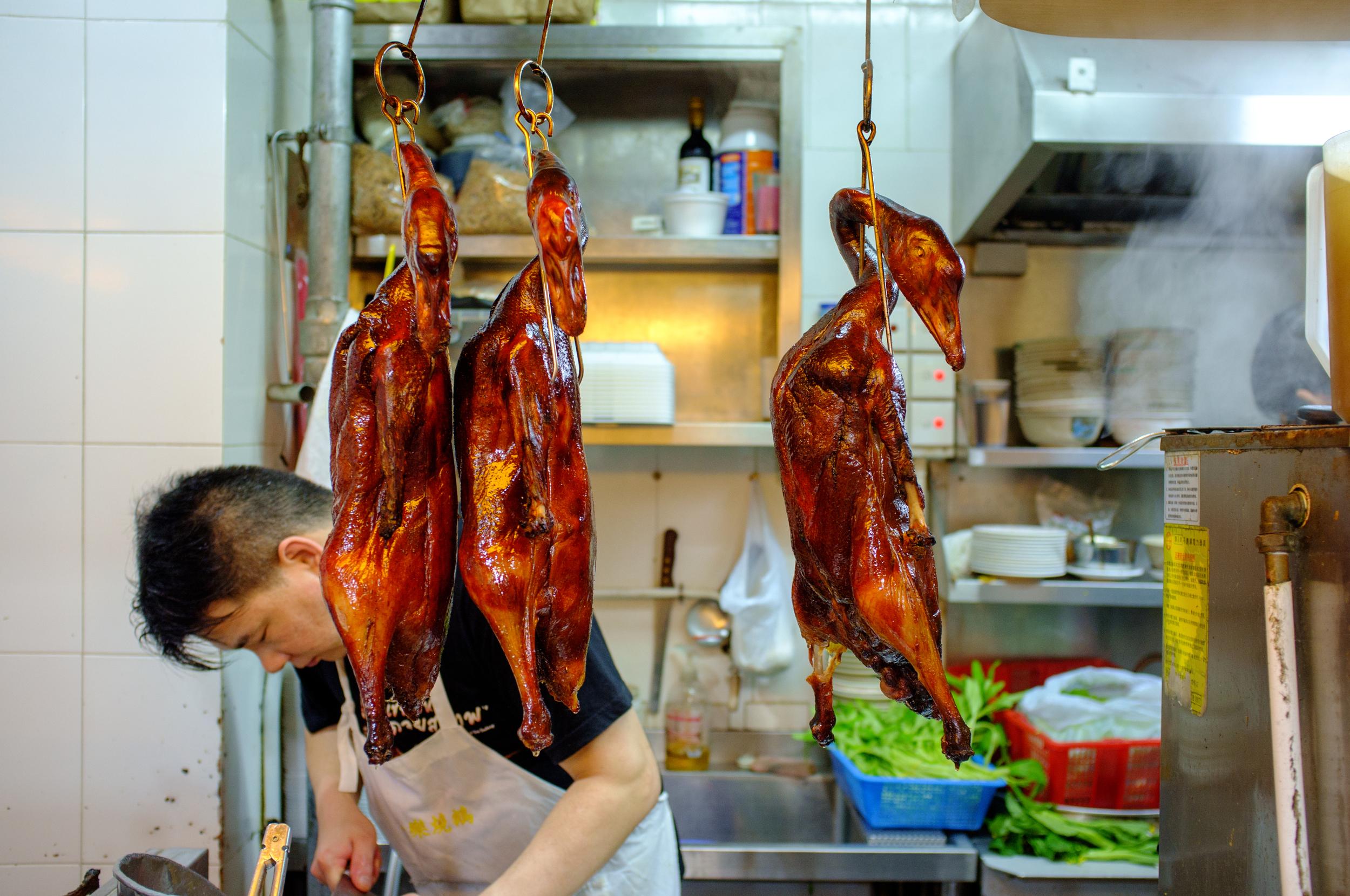 Goose (樂 燒鵝) at Yat Lok, Hong Kong