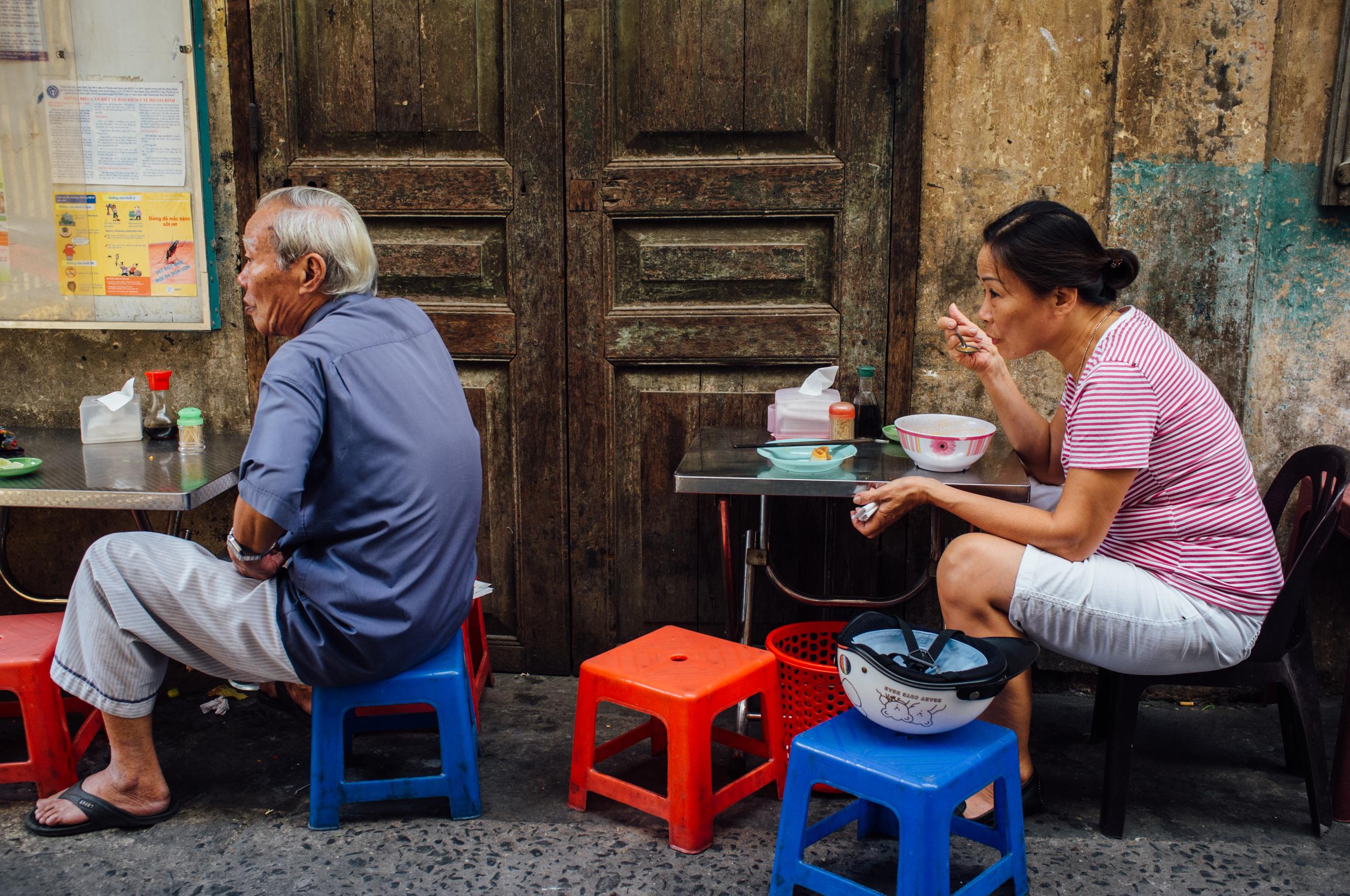 Saigon: alone, together