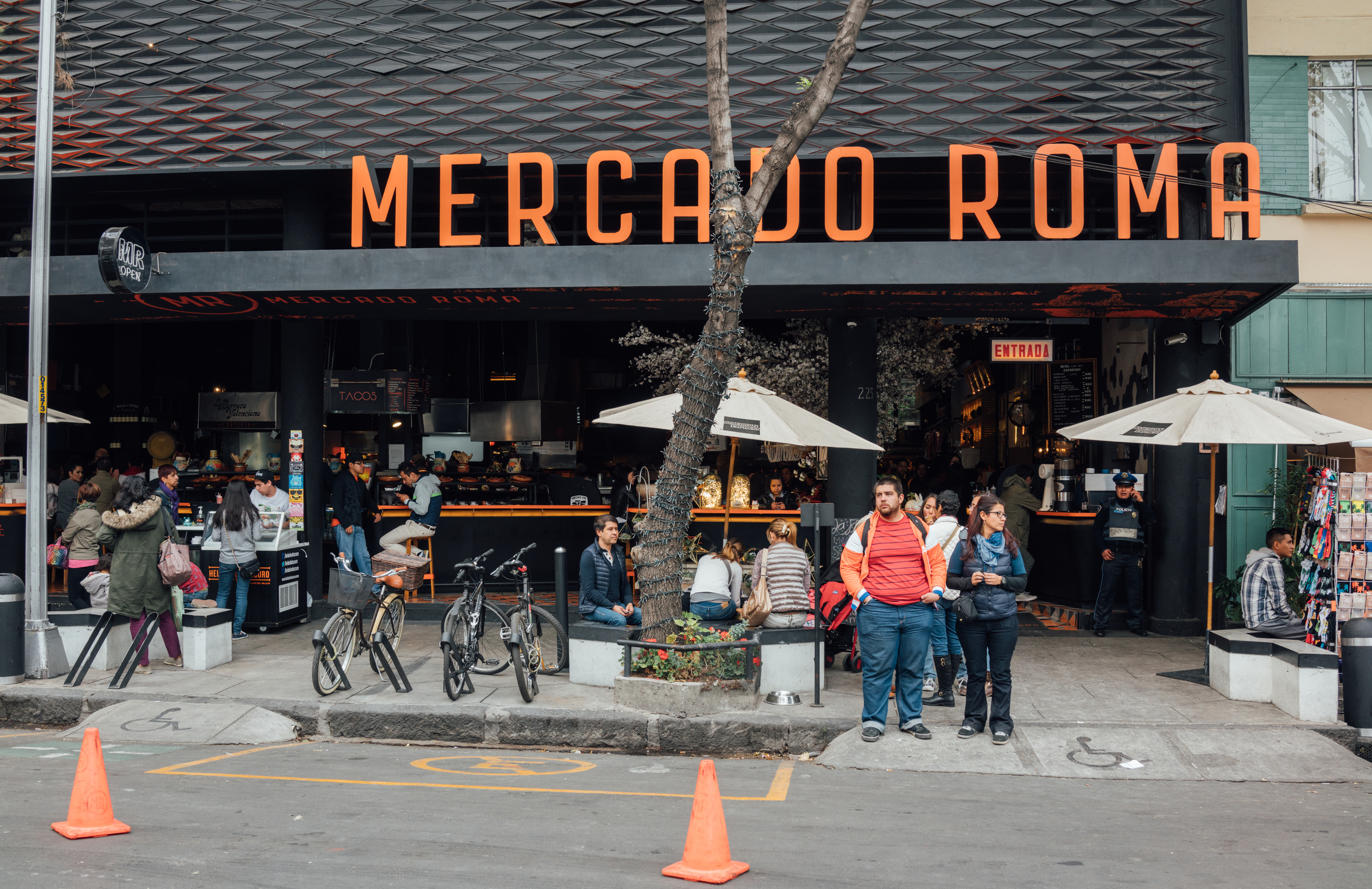 Mecado Roma in Roma, Mexico City, is a haven for foodies