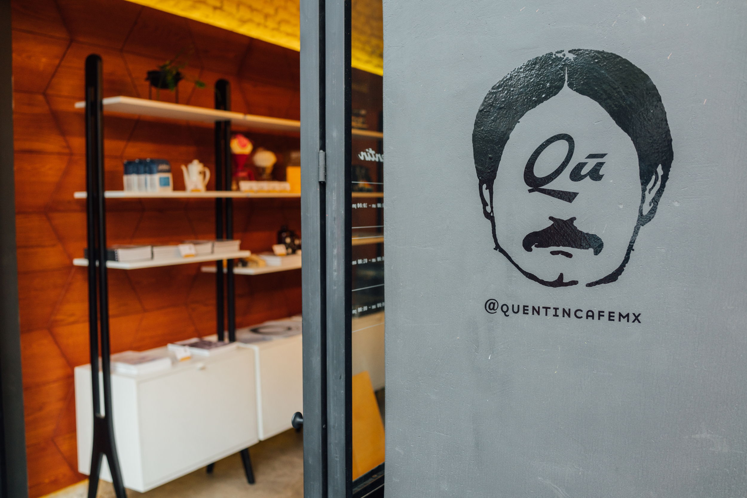Quentin Café on Álvaro Obregón in Roma