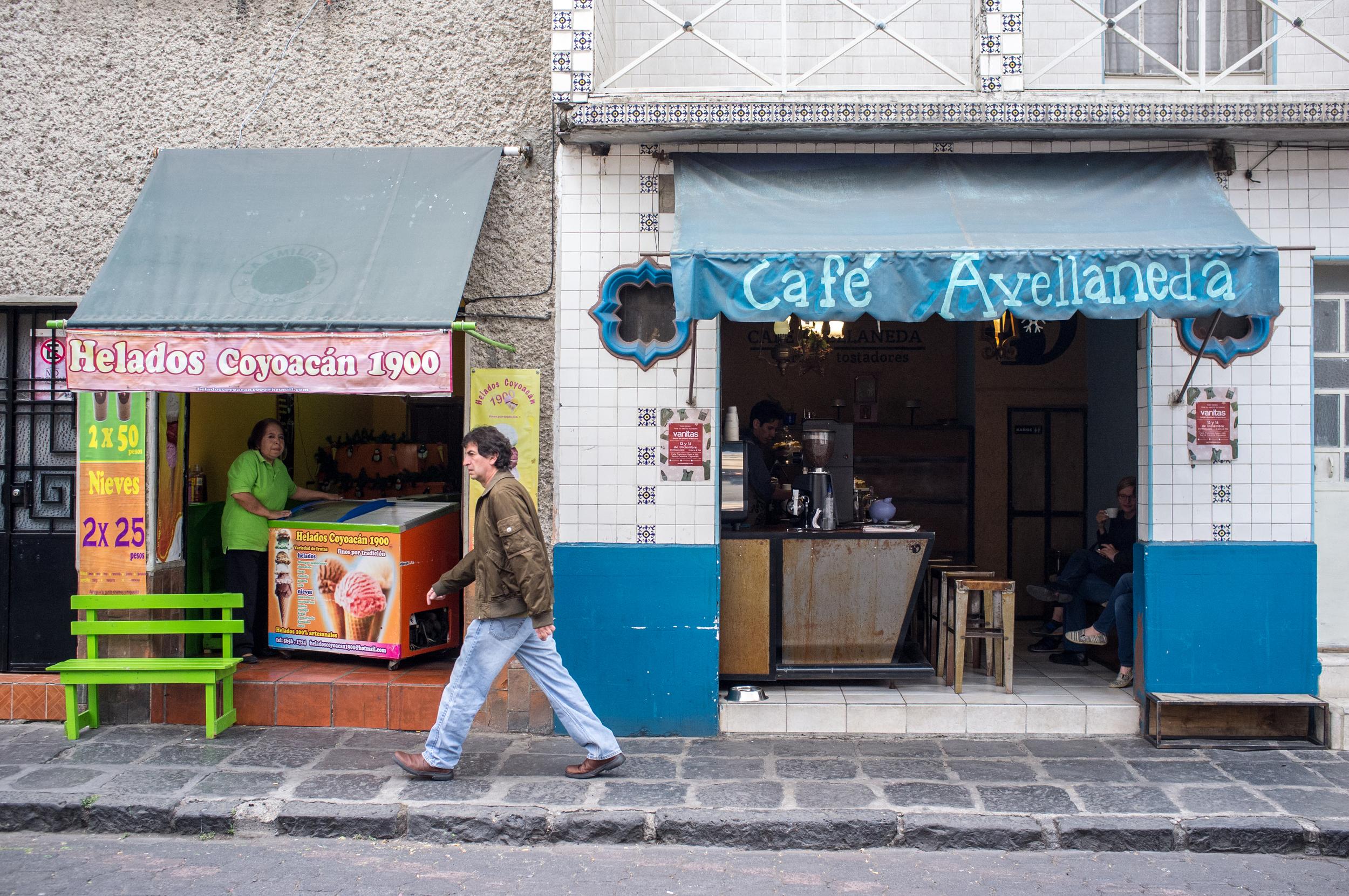 Café Avellaneda in Coyoacan
