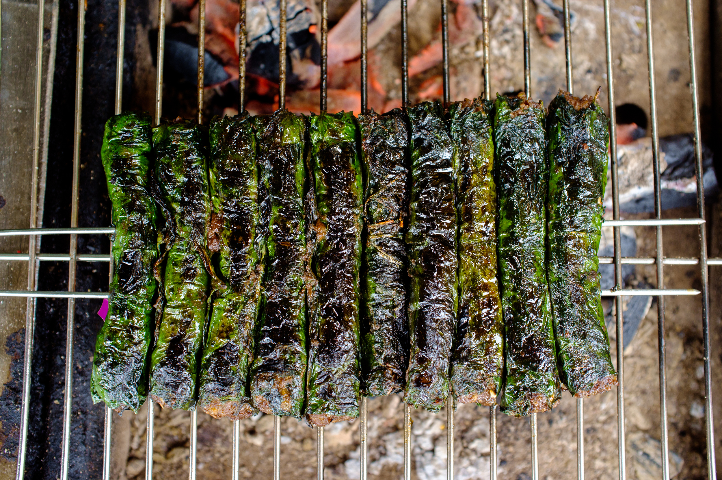 Bò lá lốt  on the grill