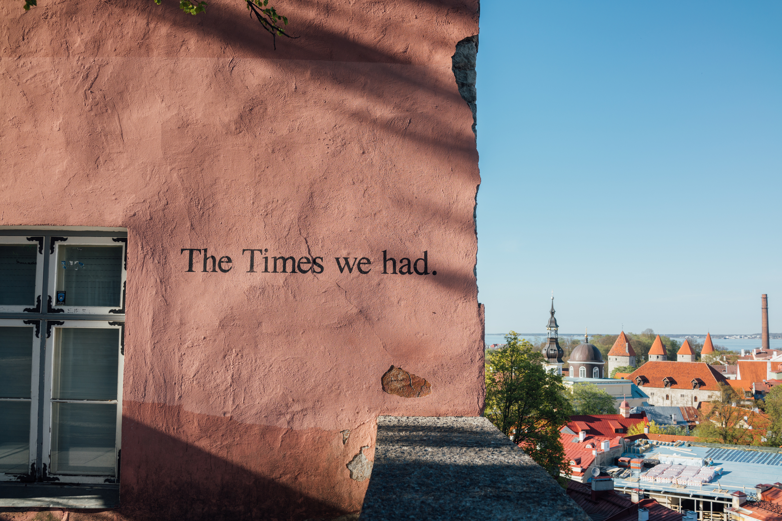 """View from  Toompea  (or """"Cathedral Hill"""")"""