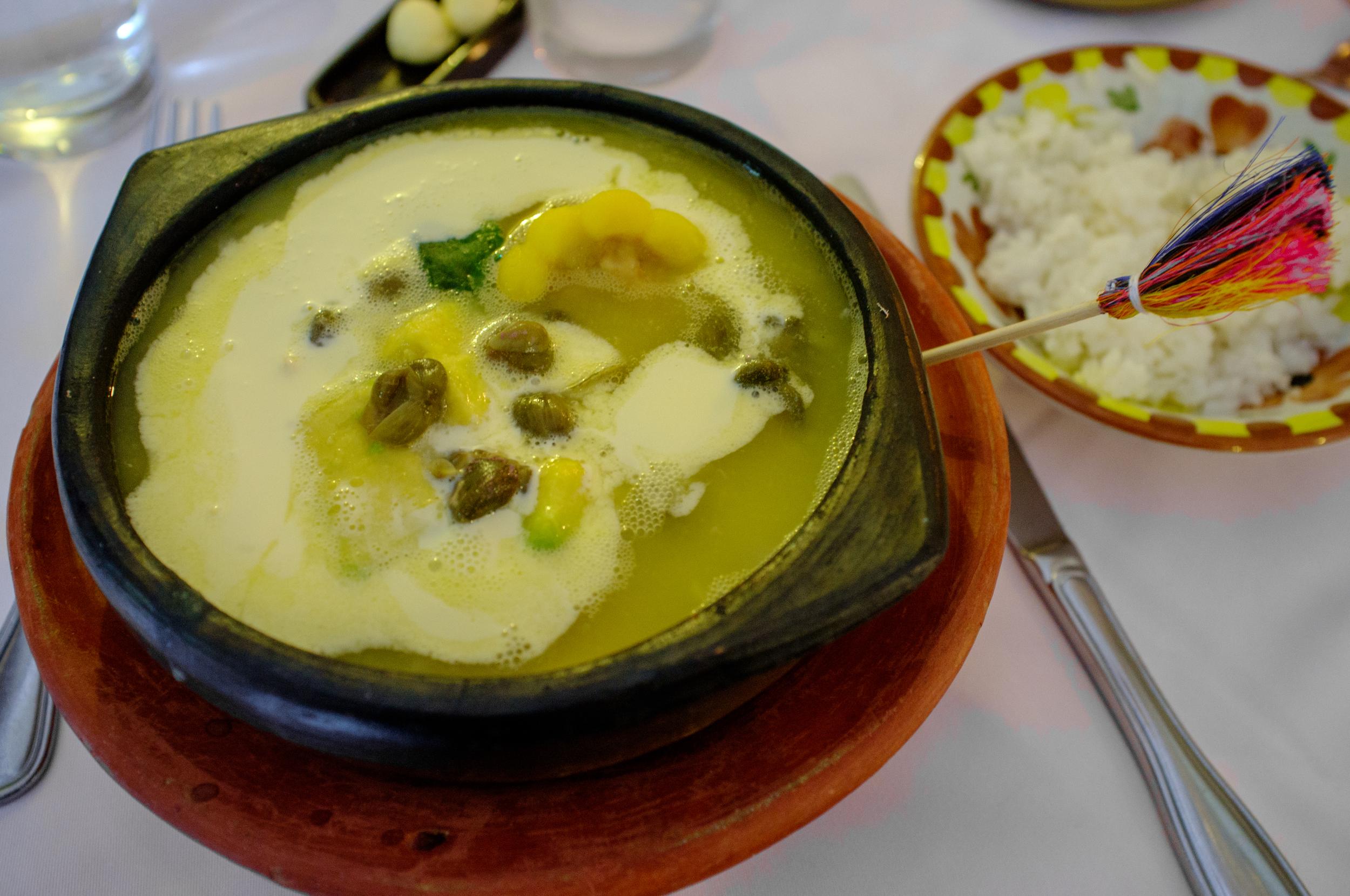 Ajiaco  at Casa Vieja