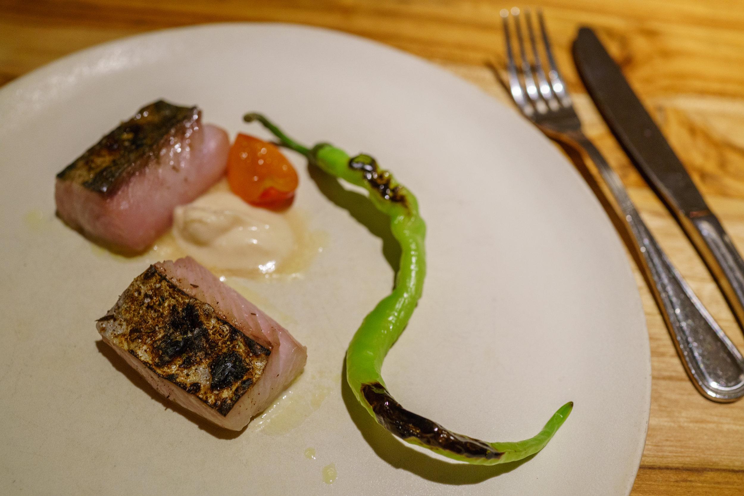 Mackerel, Umeboshi, Fushimi