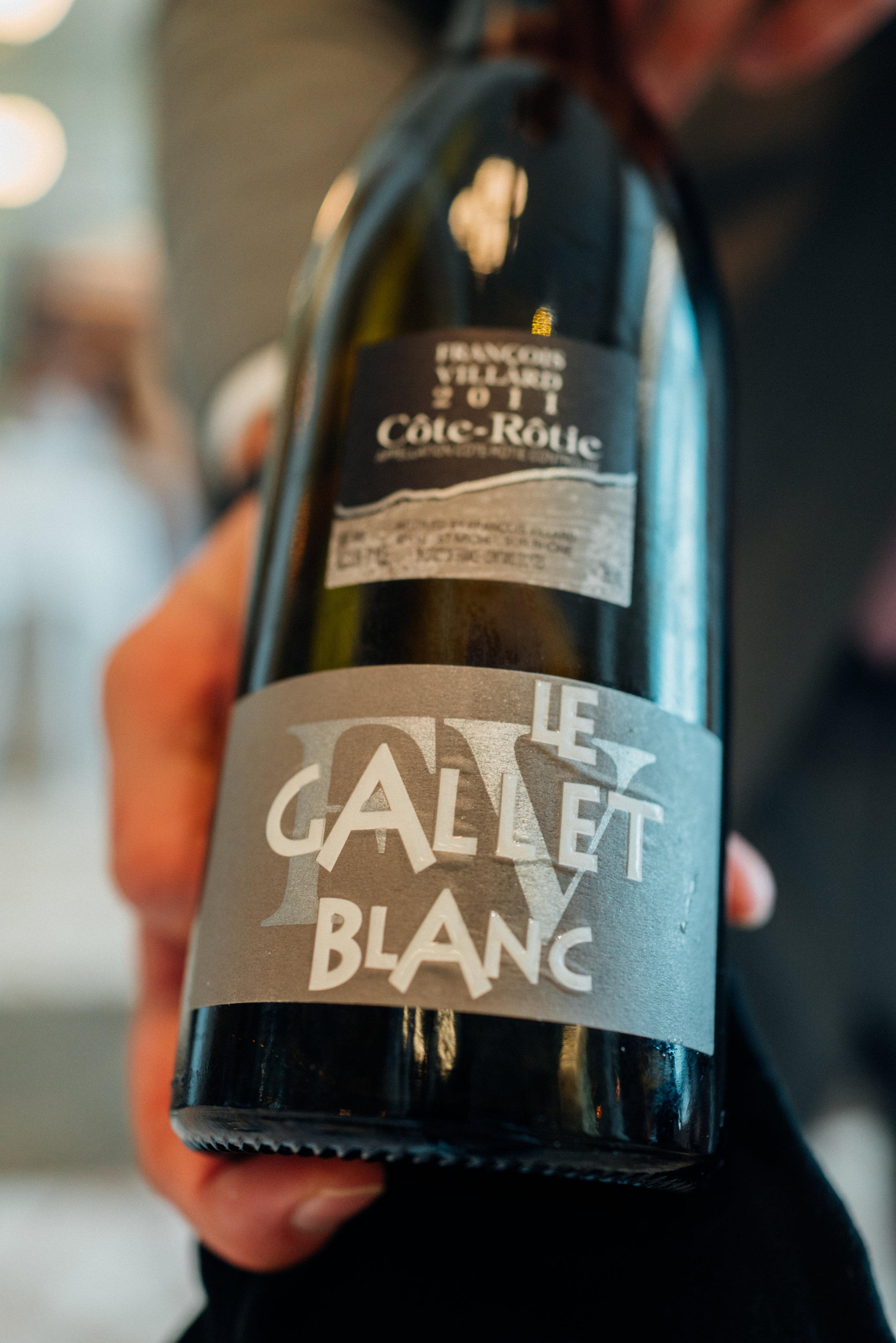 2011 François Villard Côte-Rôtie Le Gallet Blanc
