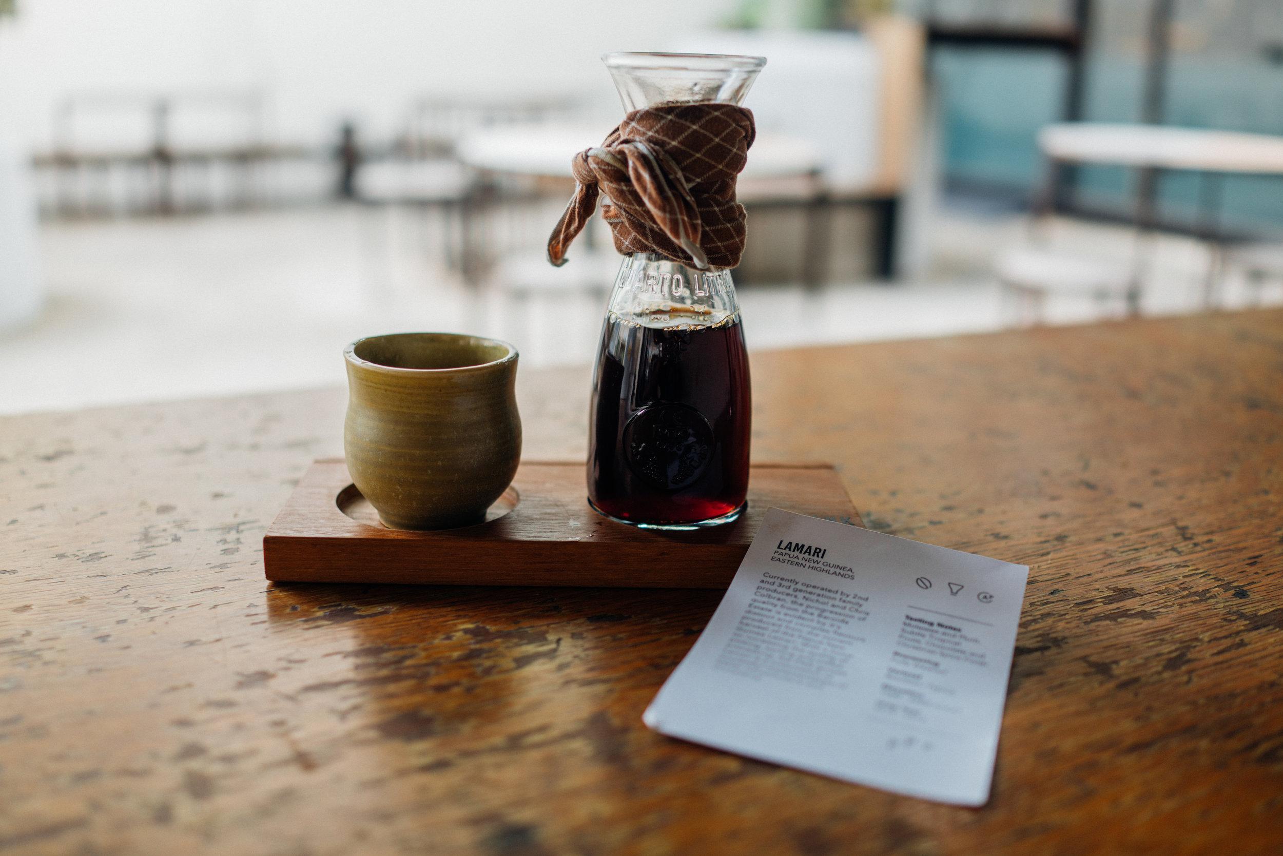 Lamari, a Single Origin Papua New Guinea at Chye Seng Huat Hardware Coffee Bar
