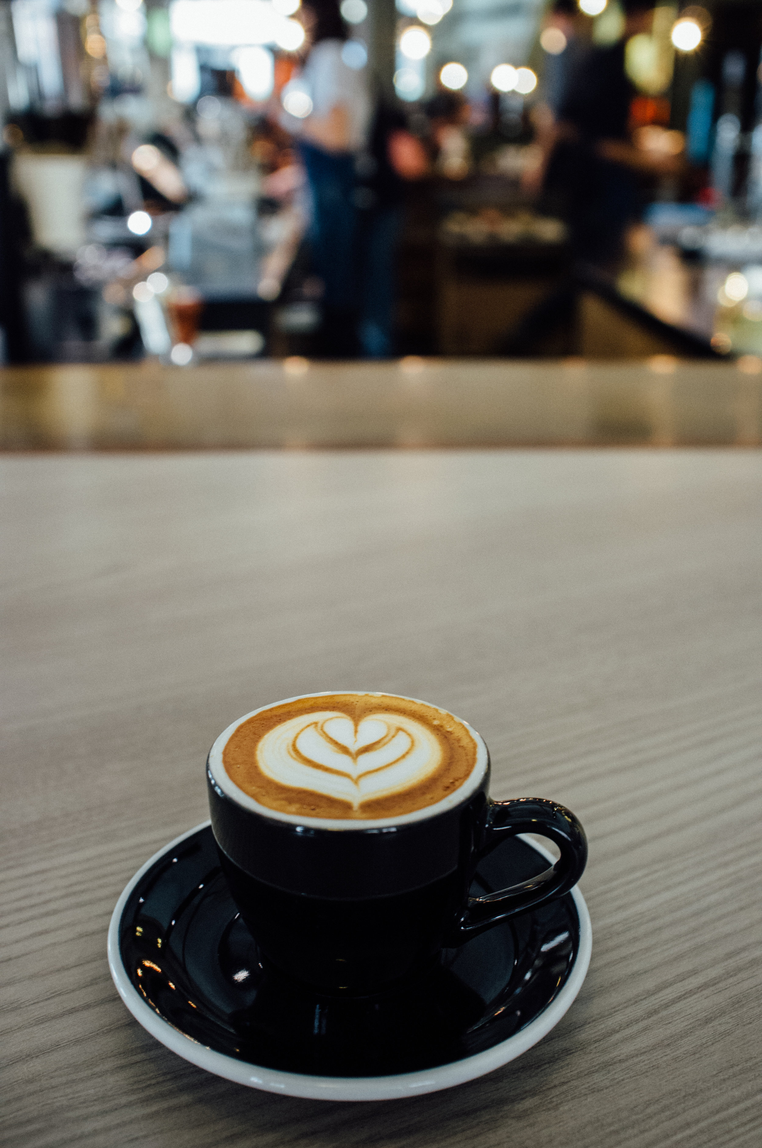 Cappuccino at Chye Seng Huat Hardware Coffee Bar