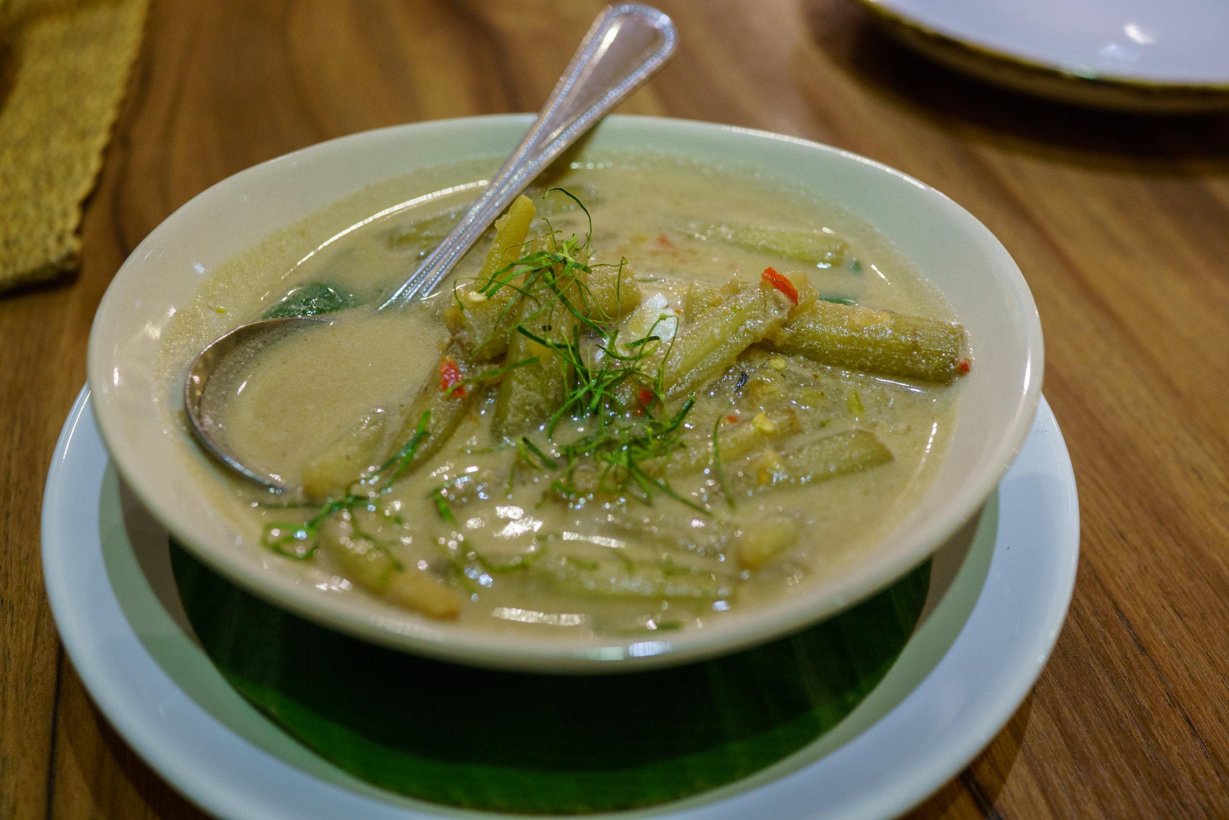 Thai mackerel, a traditional Thai dish, at The Local