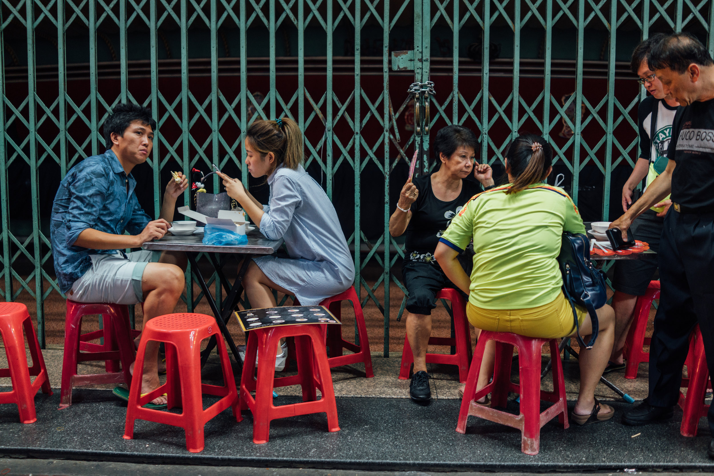 Lunch time in Bangkok