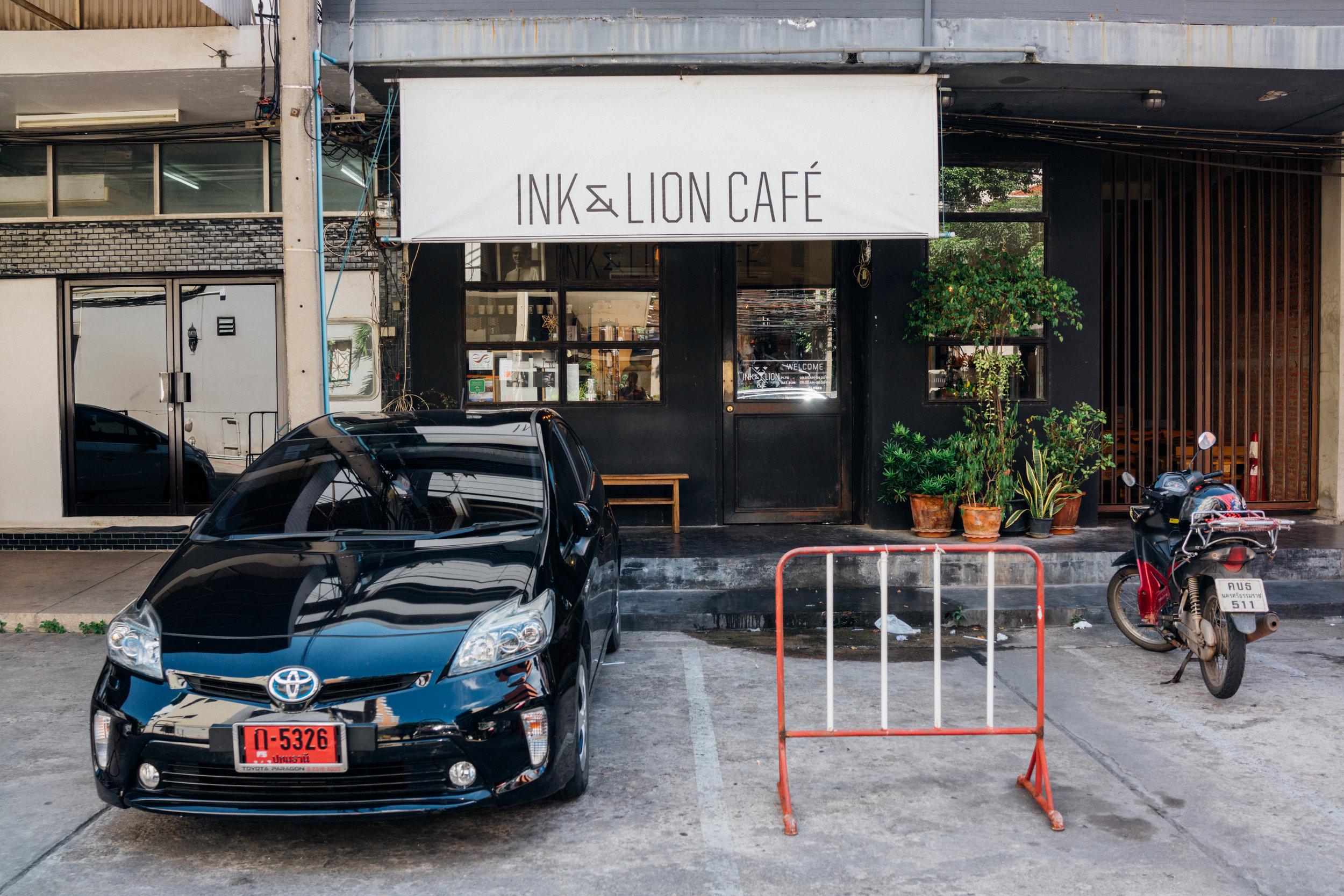 Ink & Lion exterior, in Bangkok
