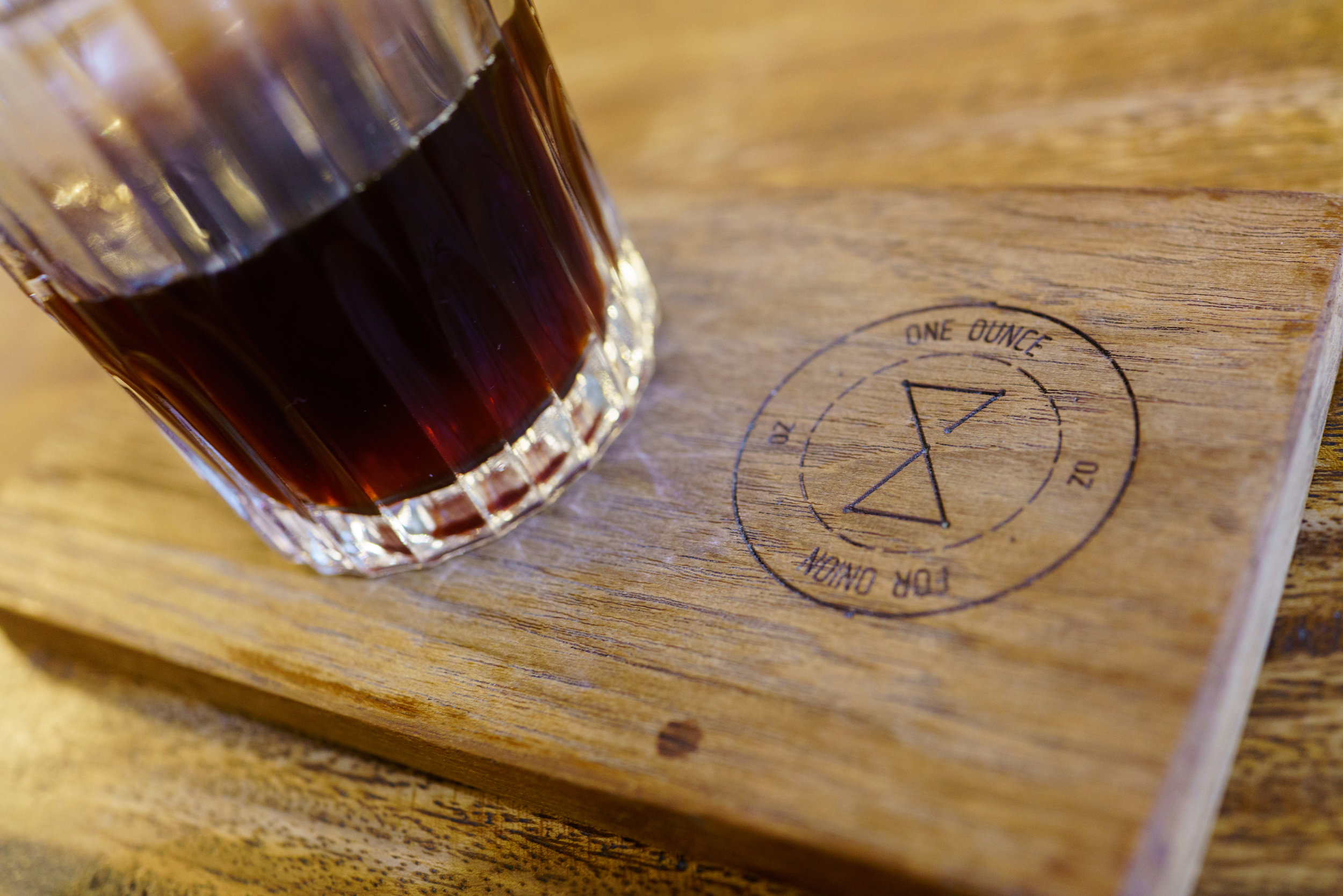 A pourover at One Ounce for Onion in Bangkok