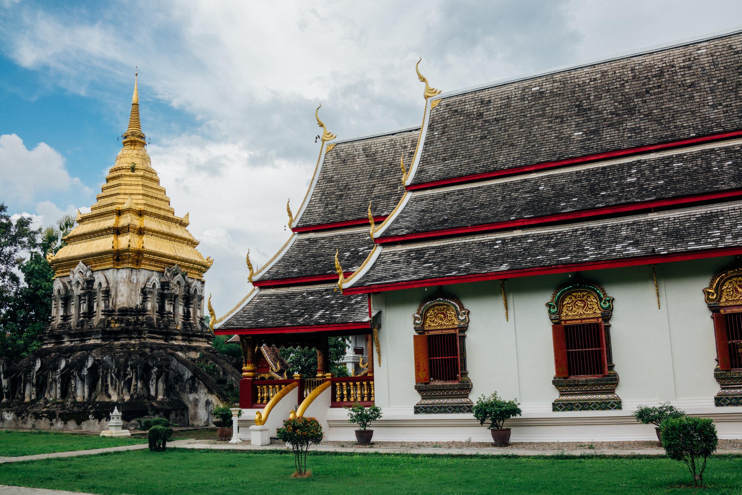 Grounds of Wat Chiang Man