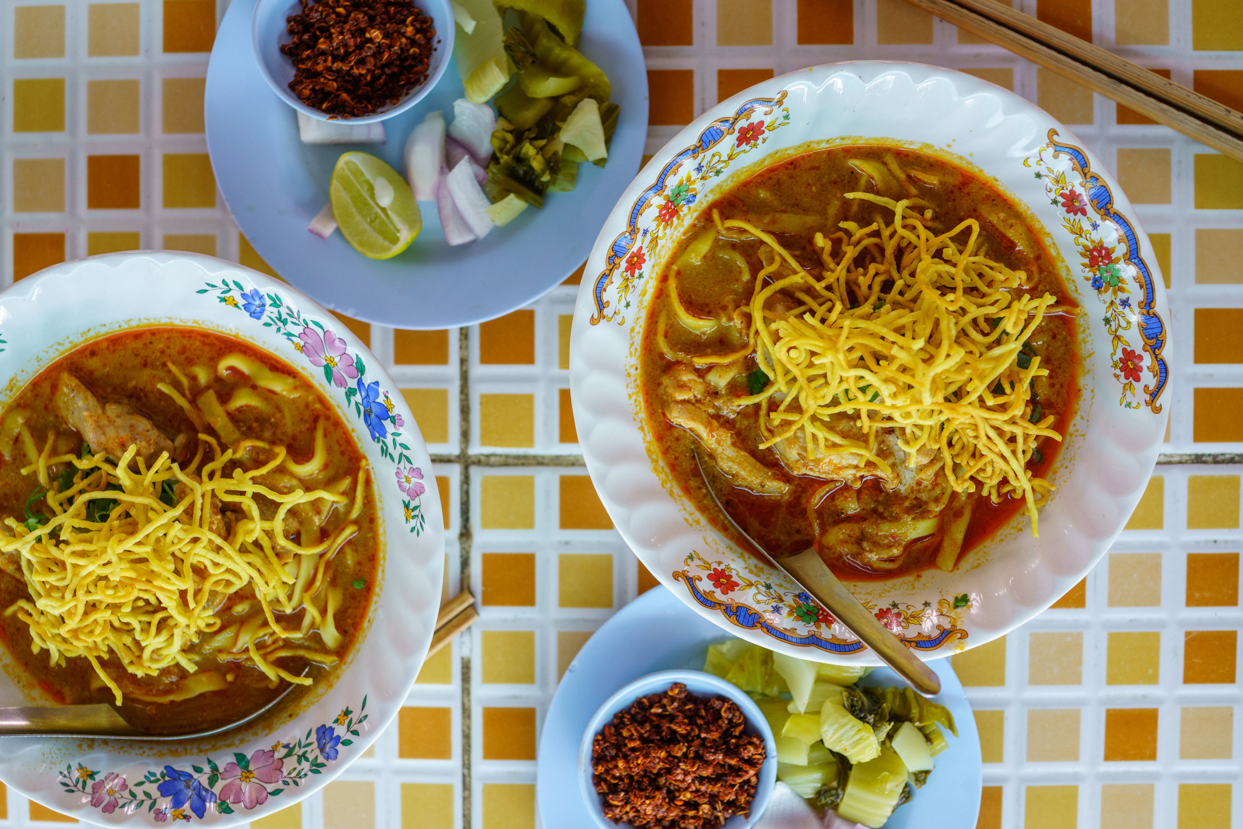 We could go for another bowl of this  khao soi at Khao Soi Khun Yai right now!