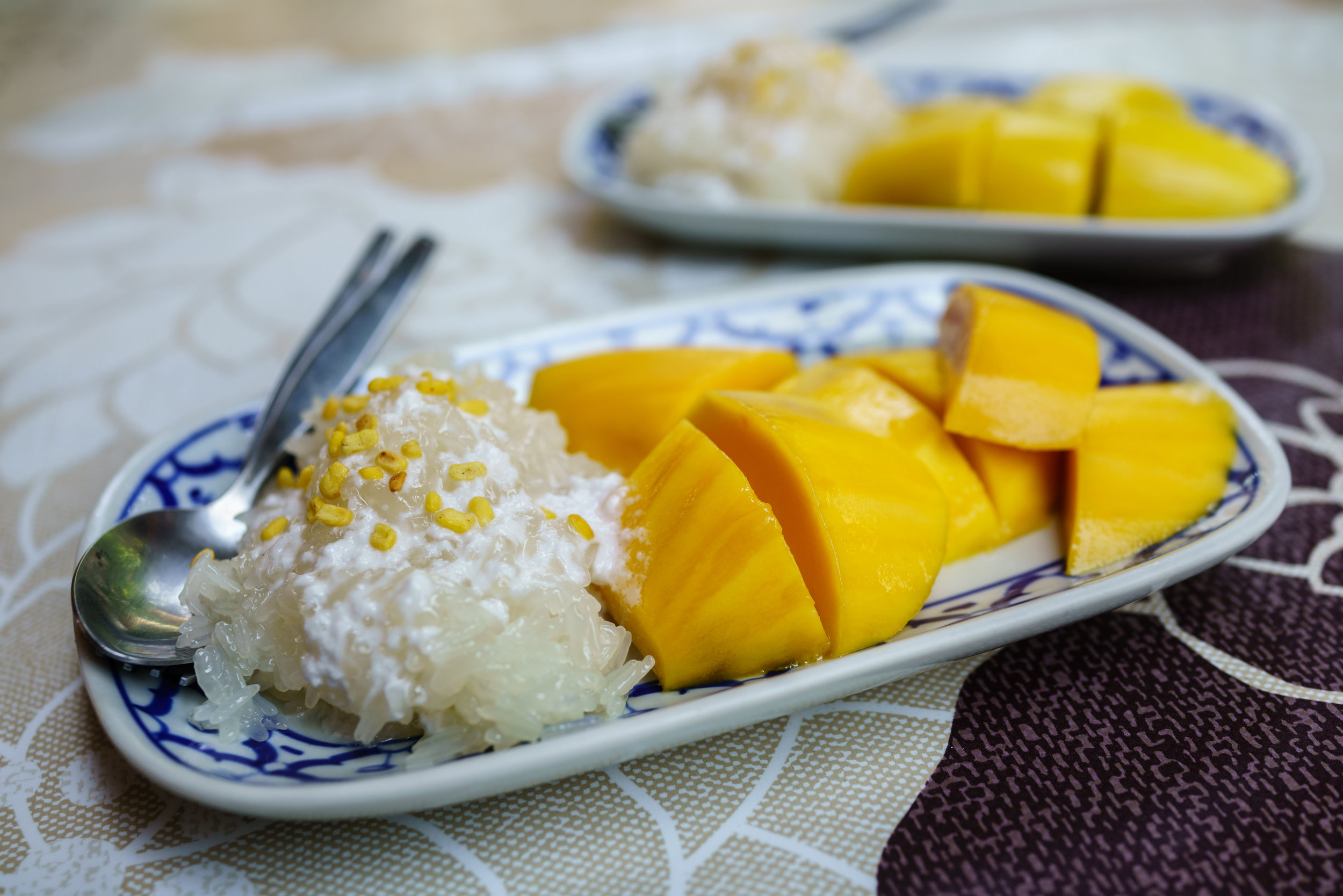 One of our favorites, mango sticky rice