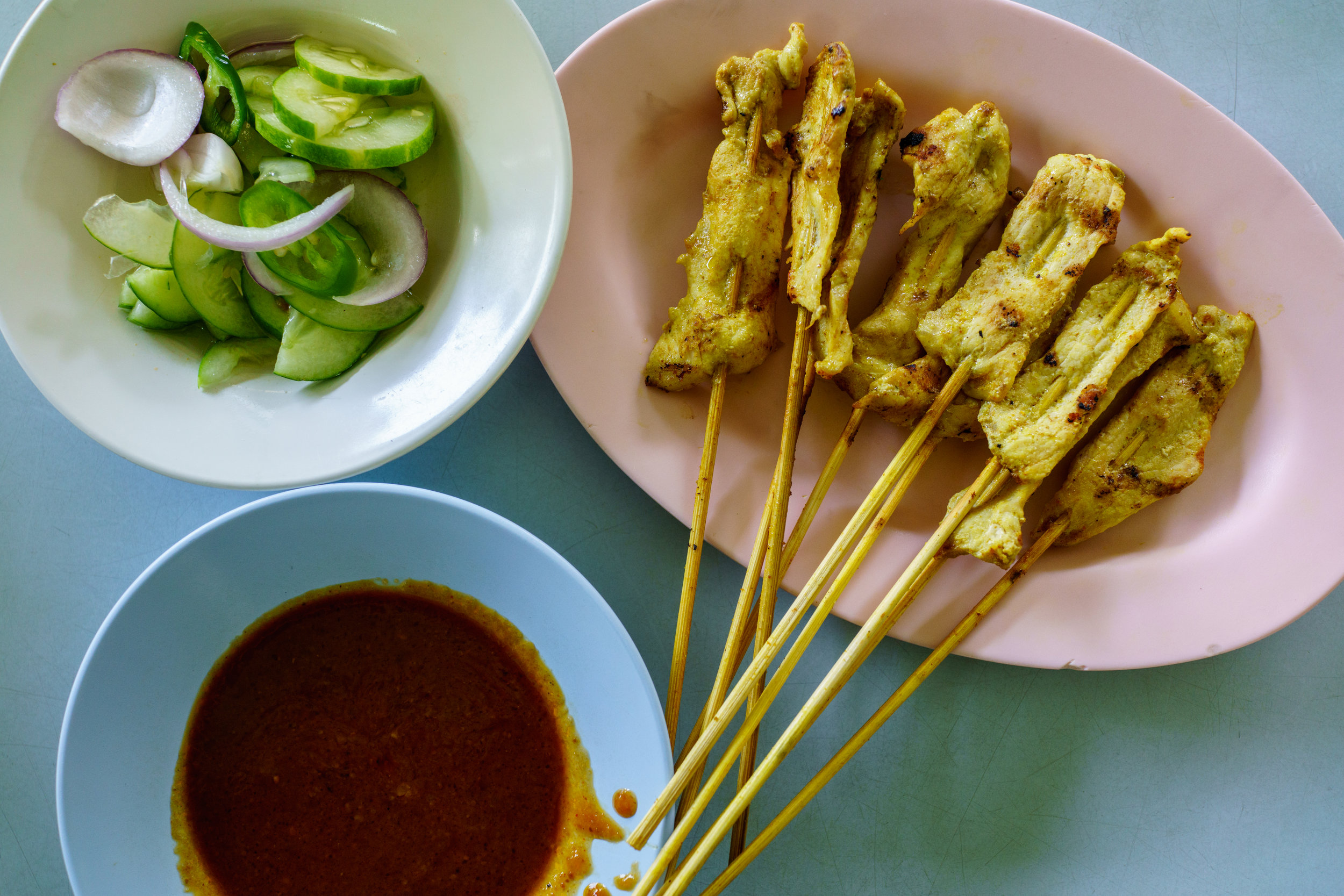 Skewers all around