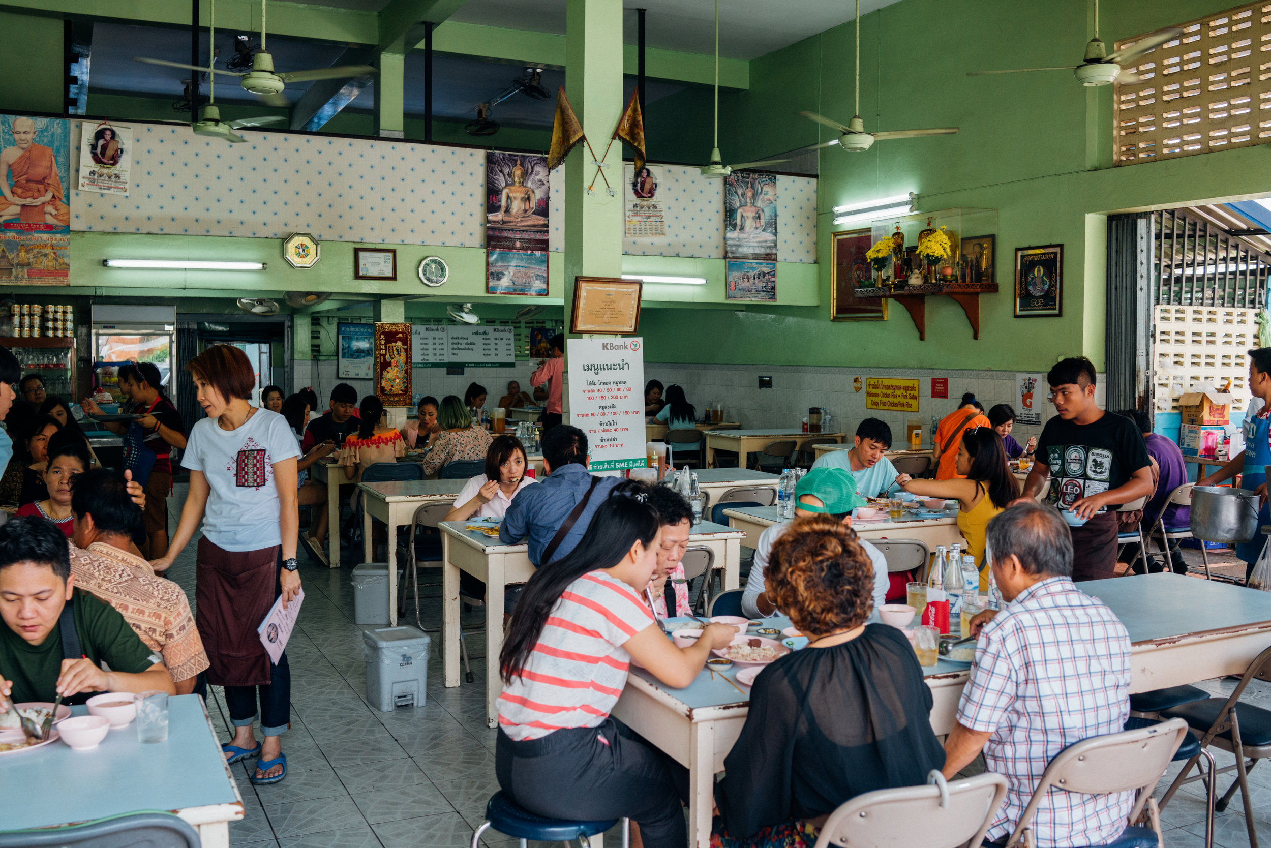 Lunch hour at Kiat Ocha