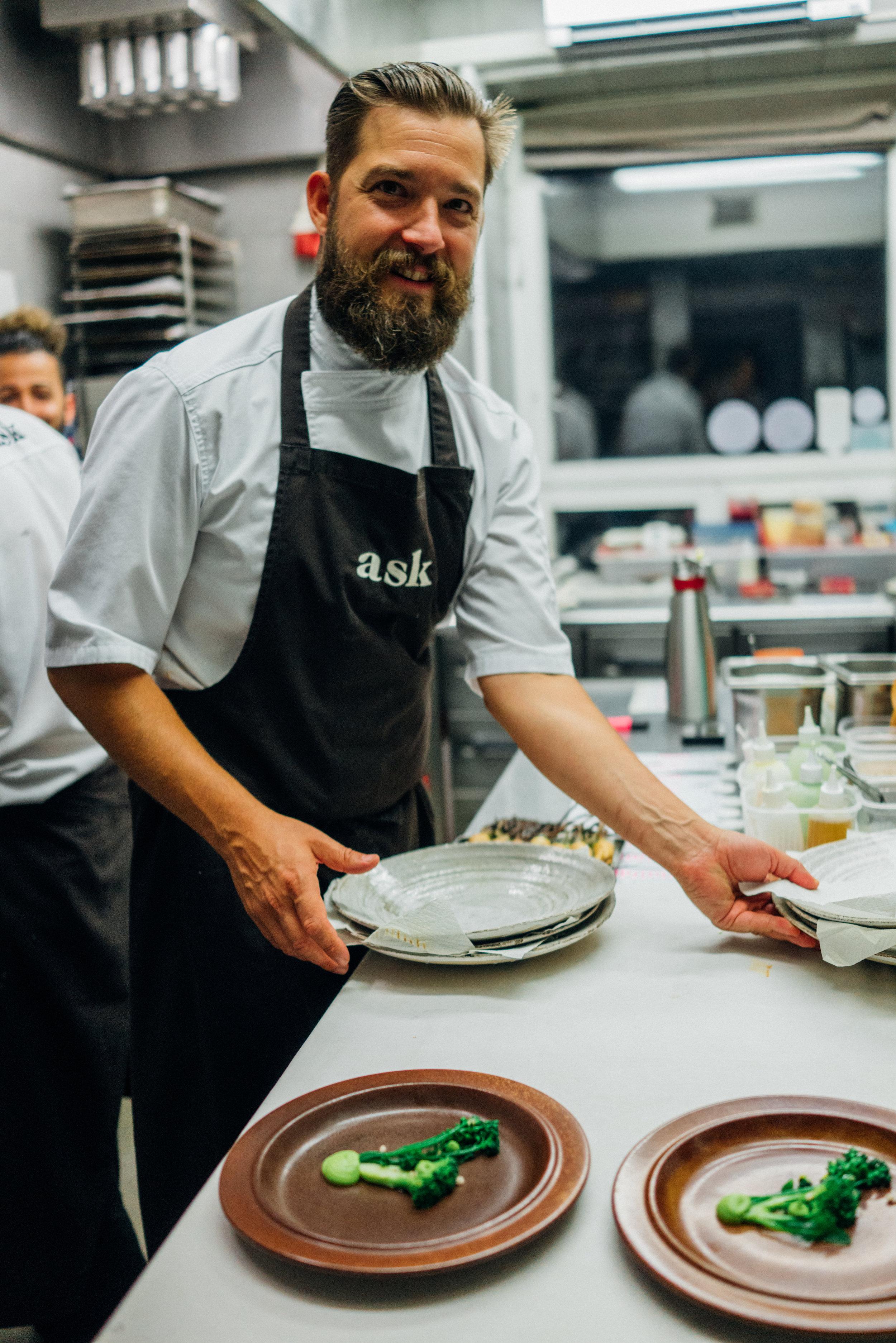 Chef Filip Langhoff