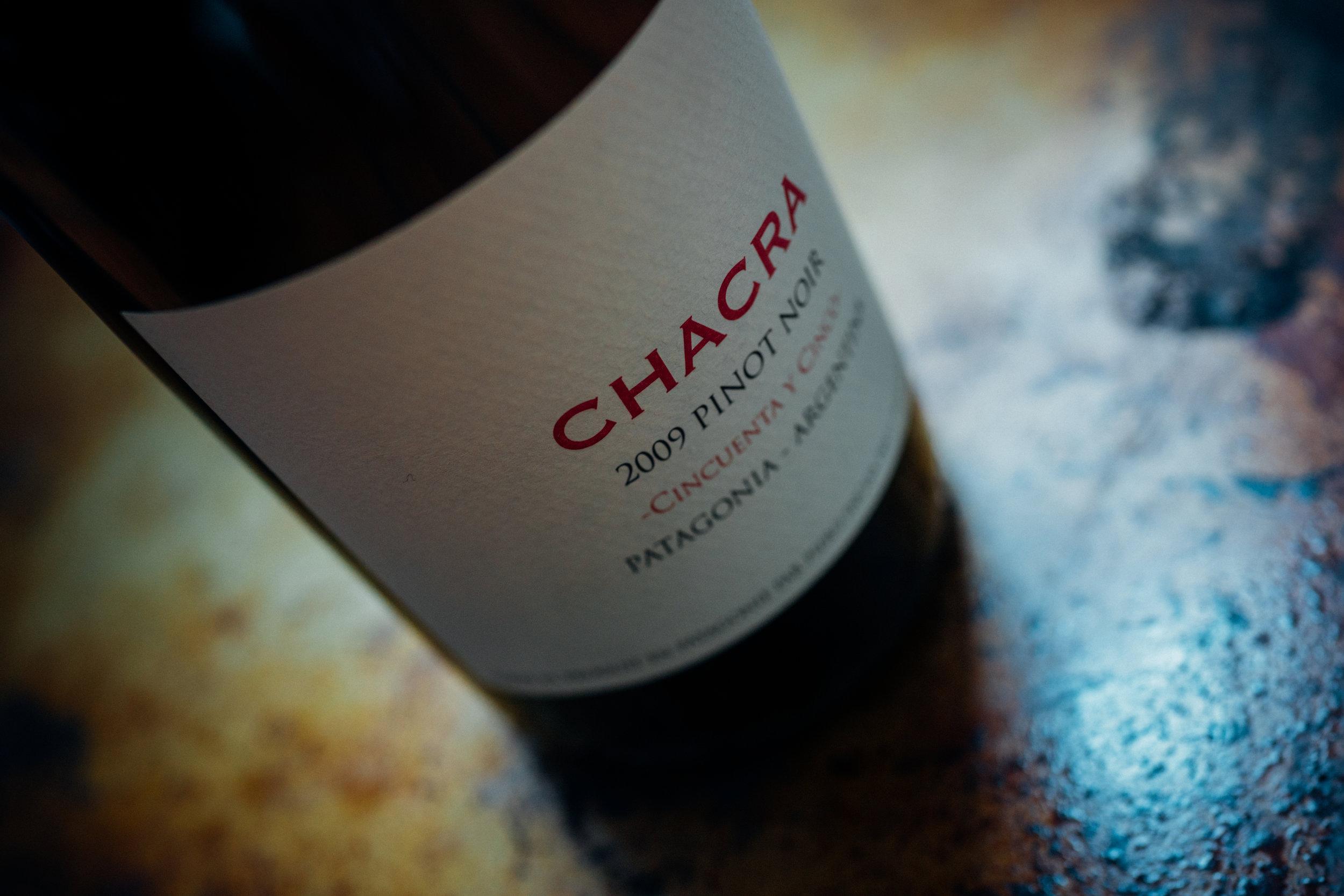2009 Bodega Chacra  Cincuenta y Cinco  Pinot Noir