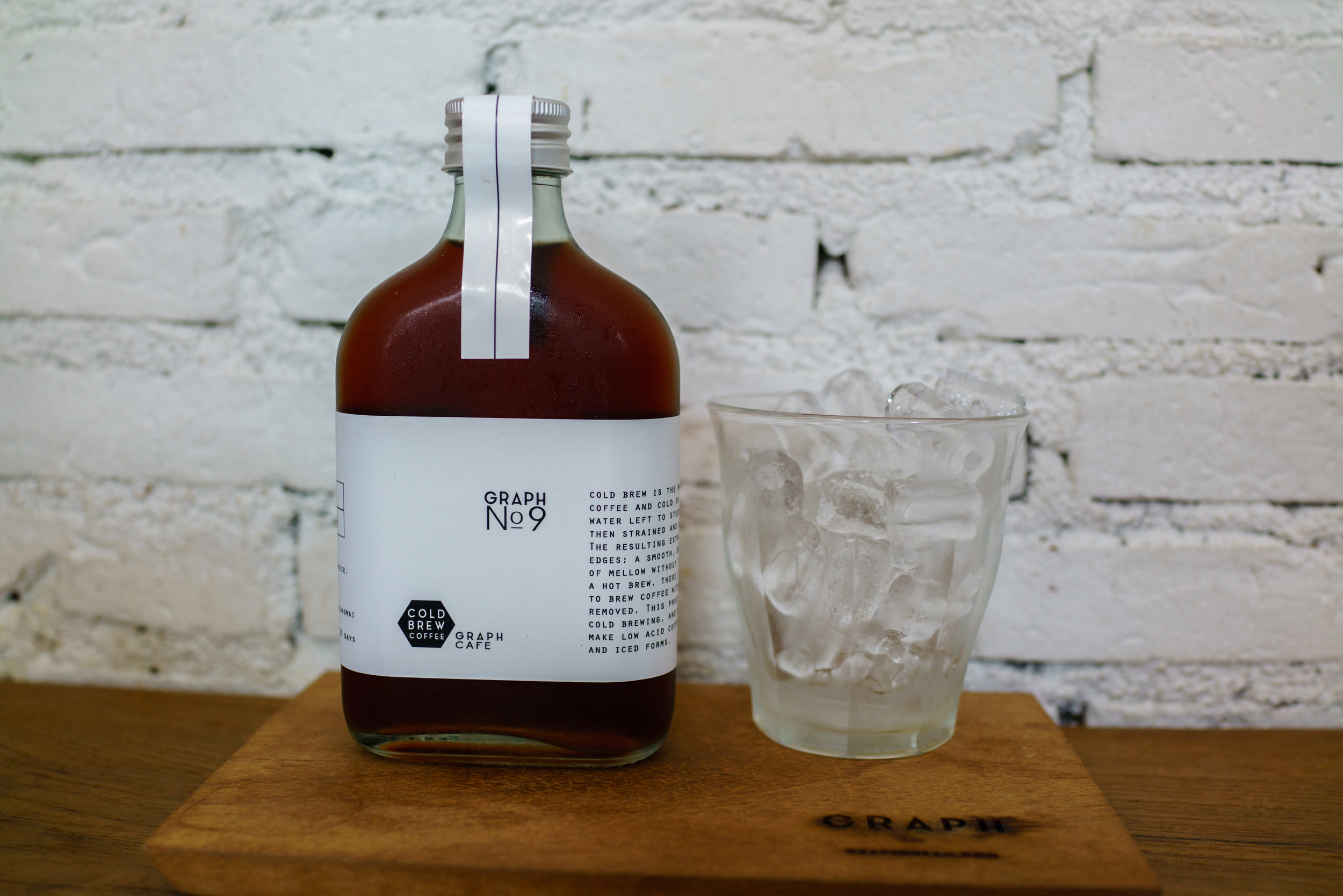 Cold Brew No. 9 at Graph Cafe in  Old Town