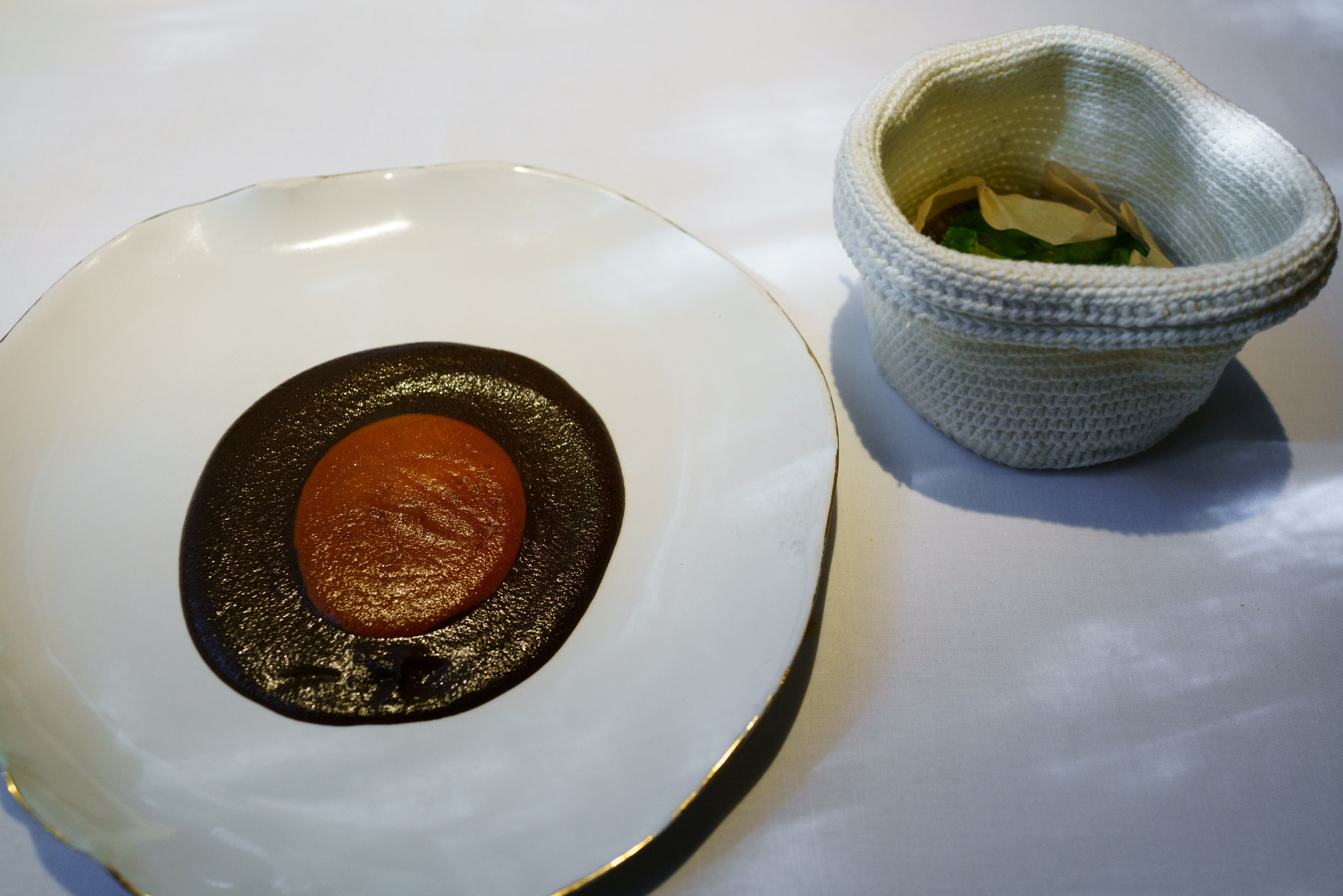Mole madre  at Pujol, Mexico City