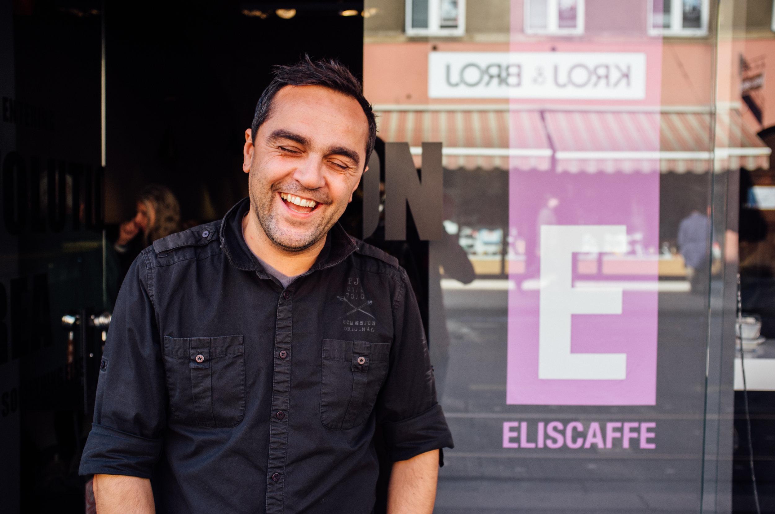 Nik Oroši of Eli's Caffe