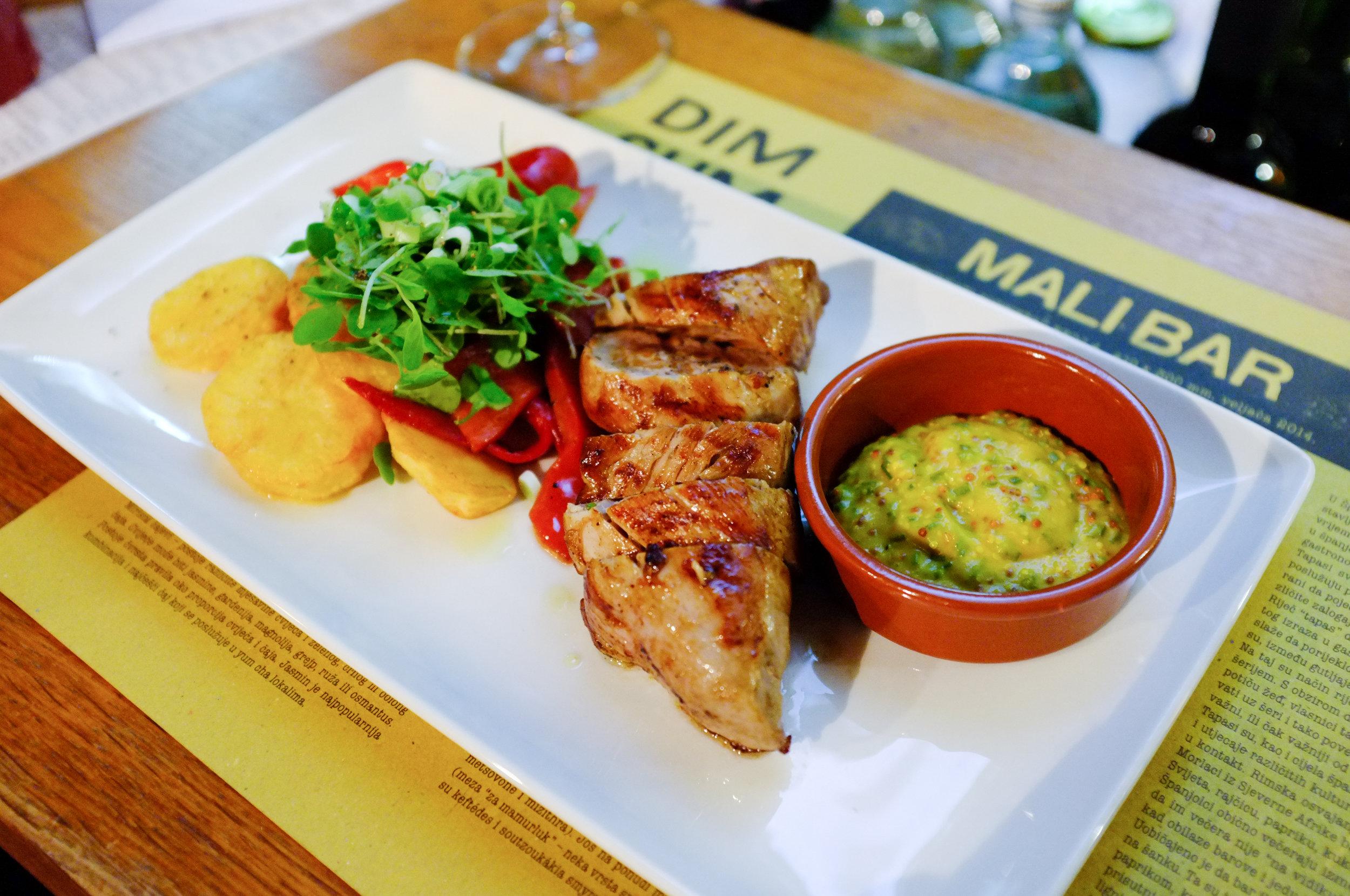 Iberian pork at Mali Bar