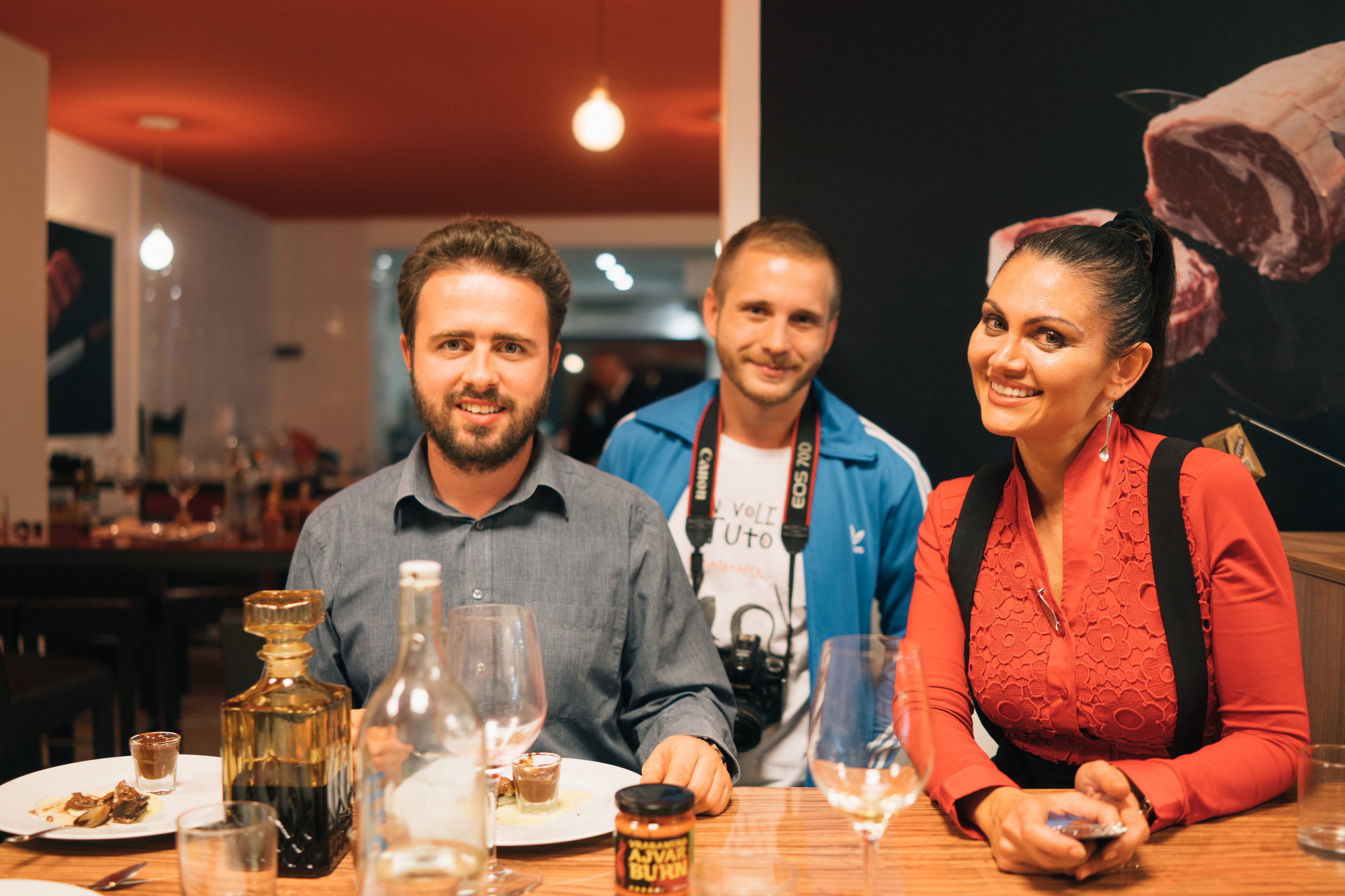 With friends at Beef Shop in Zagreb