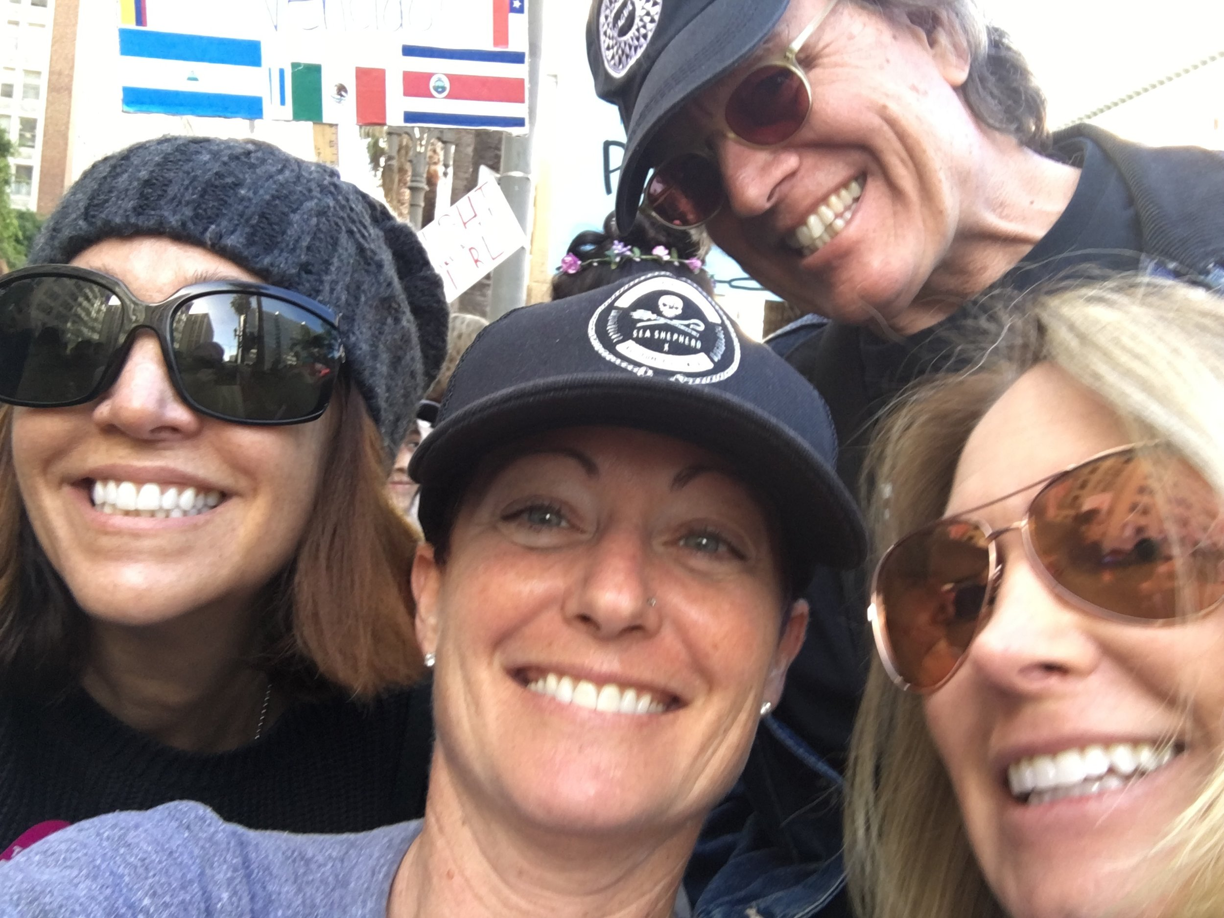Unity march selfie