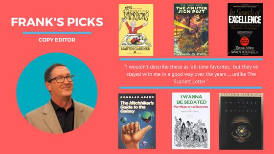 Frank's favorite books